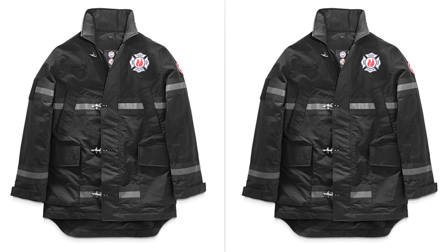 PETA and the FDNY Foundation are sparring over the coats.