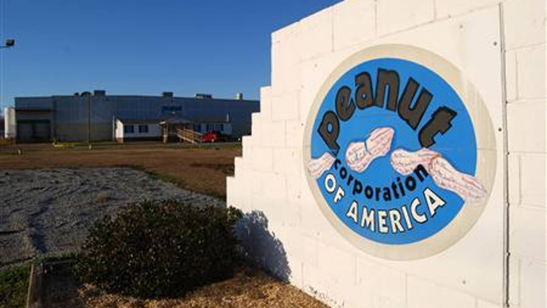 The building of the now-closed Peanut Corporation of America plant is pictured in Blakely, Georgia on January 29, 2009. REUTERS/Matthew Bigg