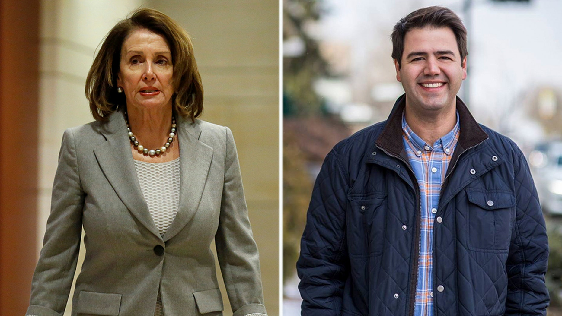 """Ohio Democratic congressional candidate Danny O'Connor has responded to questions about whether he would support Nancy Pelosi for speaker by saying he wanted """"new leadership"""" instead."""