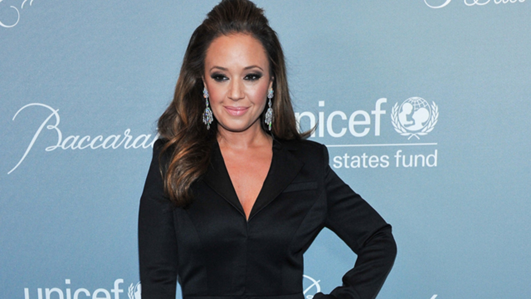FILE - In this Jan. 14, 2014 file photo, Leah Remini arrives at the 2014 UNICEF Ball in Beverly Hills, Calif. (Photo by Richard Shotwell Invision/AP, File)