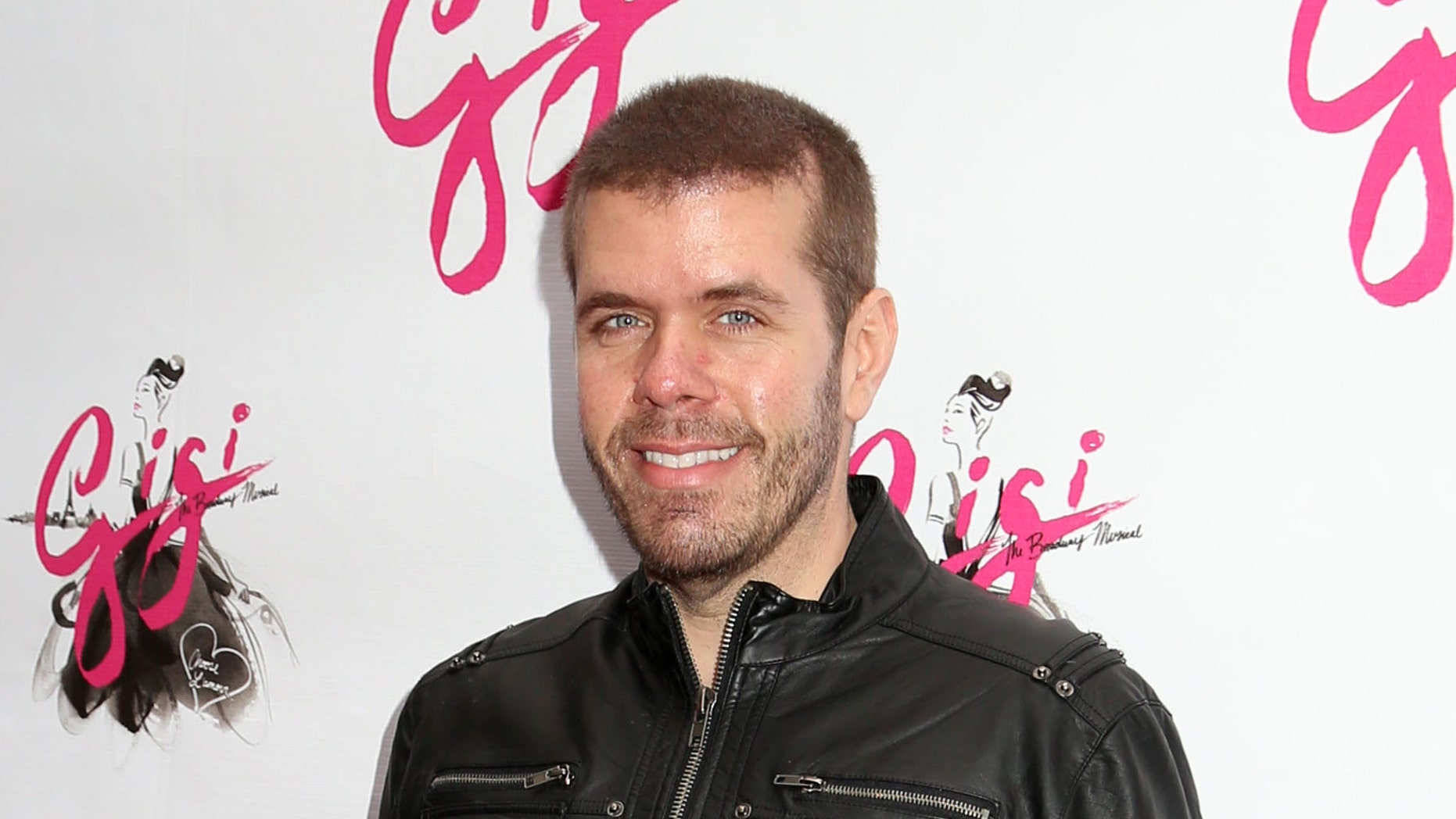 "Perez Hilton attends the Broadway opening night of ""Gigi"" on April 8, 2015."
