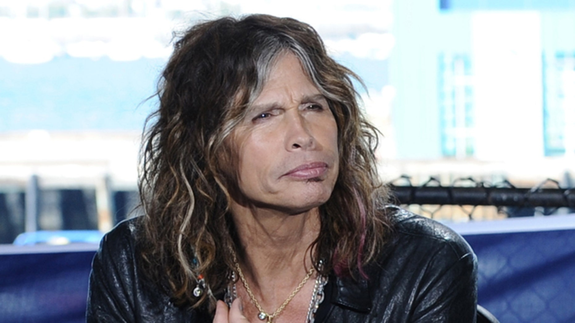 """Oct. 10, 2011: In this photo released by Fox shows """"American Idol"""" judge Steven Tyler during auditions for the singing competition series in San Diego."""
