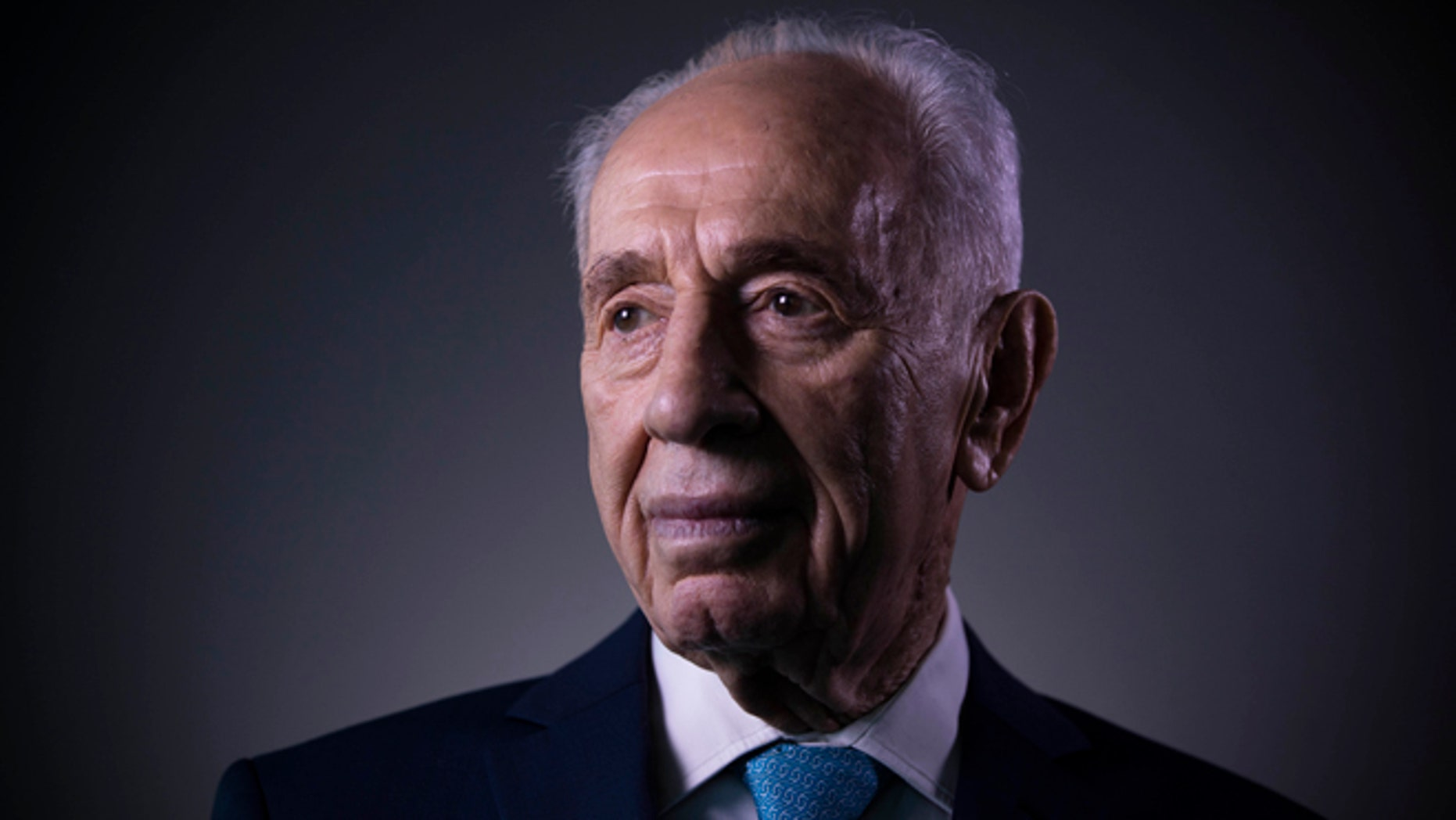Former President Shimon Peres in Feb. 8, 2016.