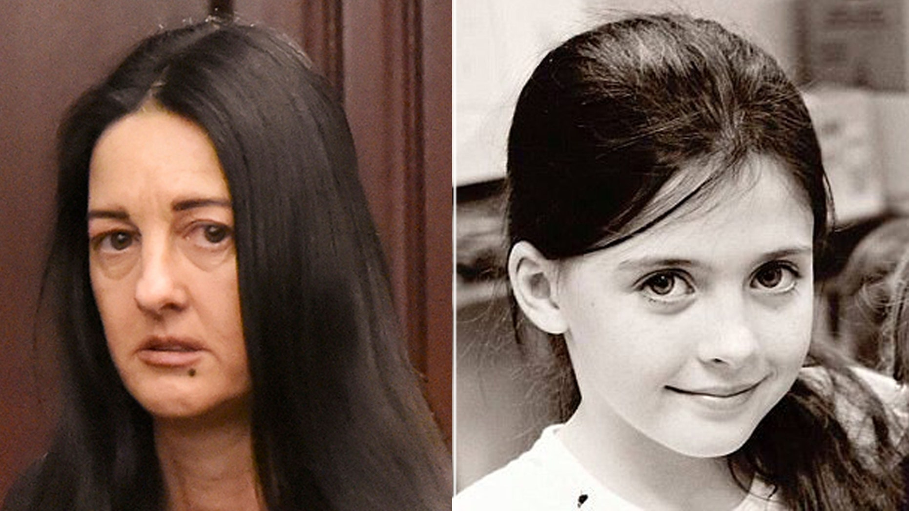 Rayne Perrywinkle (left) testified about the day her daughter, Cherish  Perrywinkle, disappeared