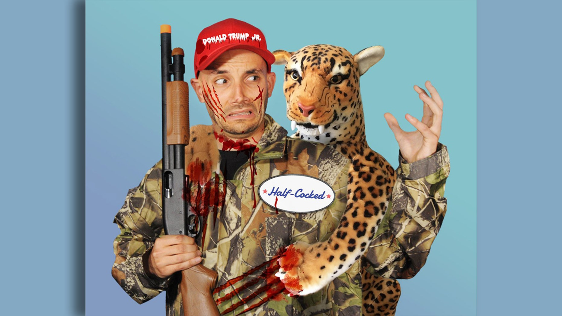 Donald Trump Jr. has responded to PETA's costume by calling the organization out on its high animal euthanizing rate.