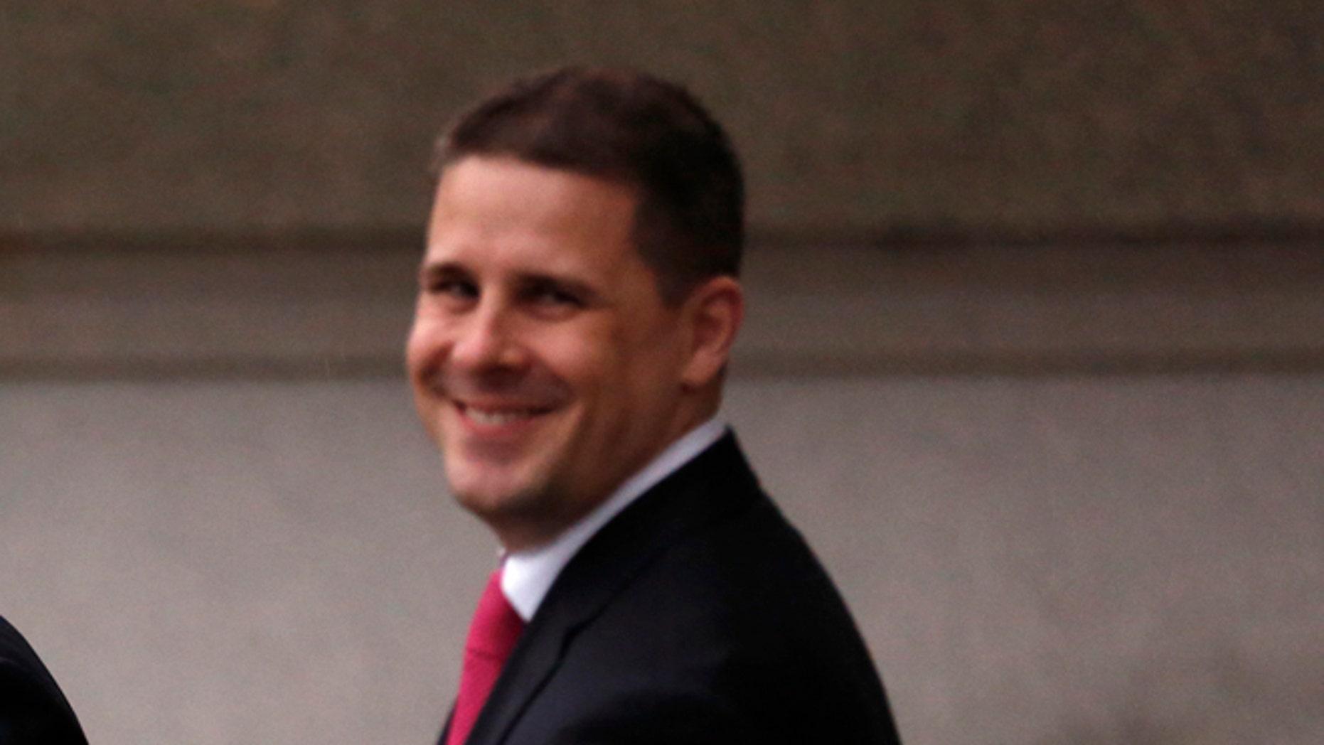 FILE: Jan. 16, 2013: White House adviser Dan Pfeiffer near the White House, in Washington, D.C.