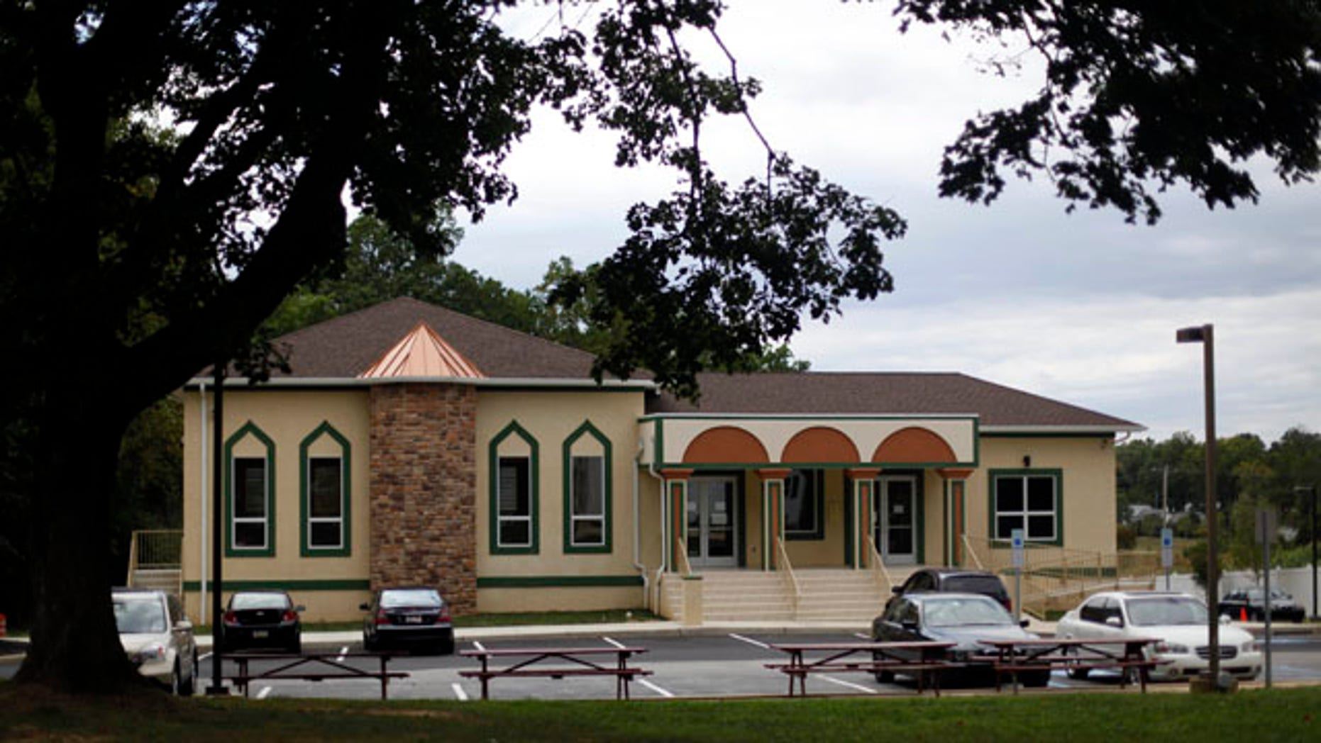 September 9: Islamic Society of Greater Valley Forge mosque is seen in Berwyn, Pa. Amid a tense national climate for U.S. Muslims, leaders of the Islamic Society of Greater Valley Forge only seek continued harmony with their neighbors: a Jewish synagogue next door and Baptist Church across the street. (AP)