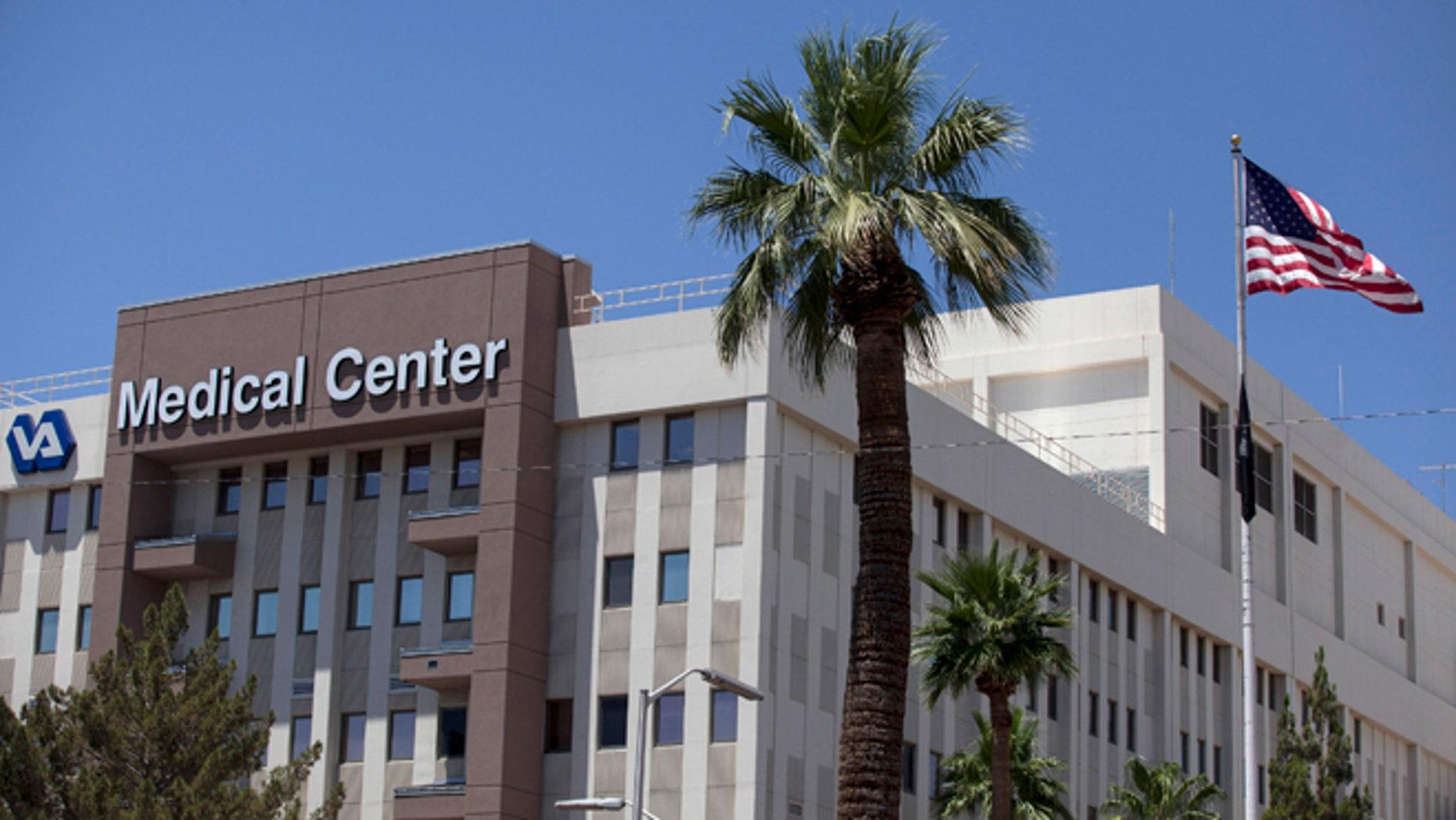 June 11, 2014: The Carl T. Hayden VA Medical Center is pictured in Phoenix.