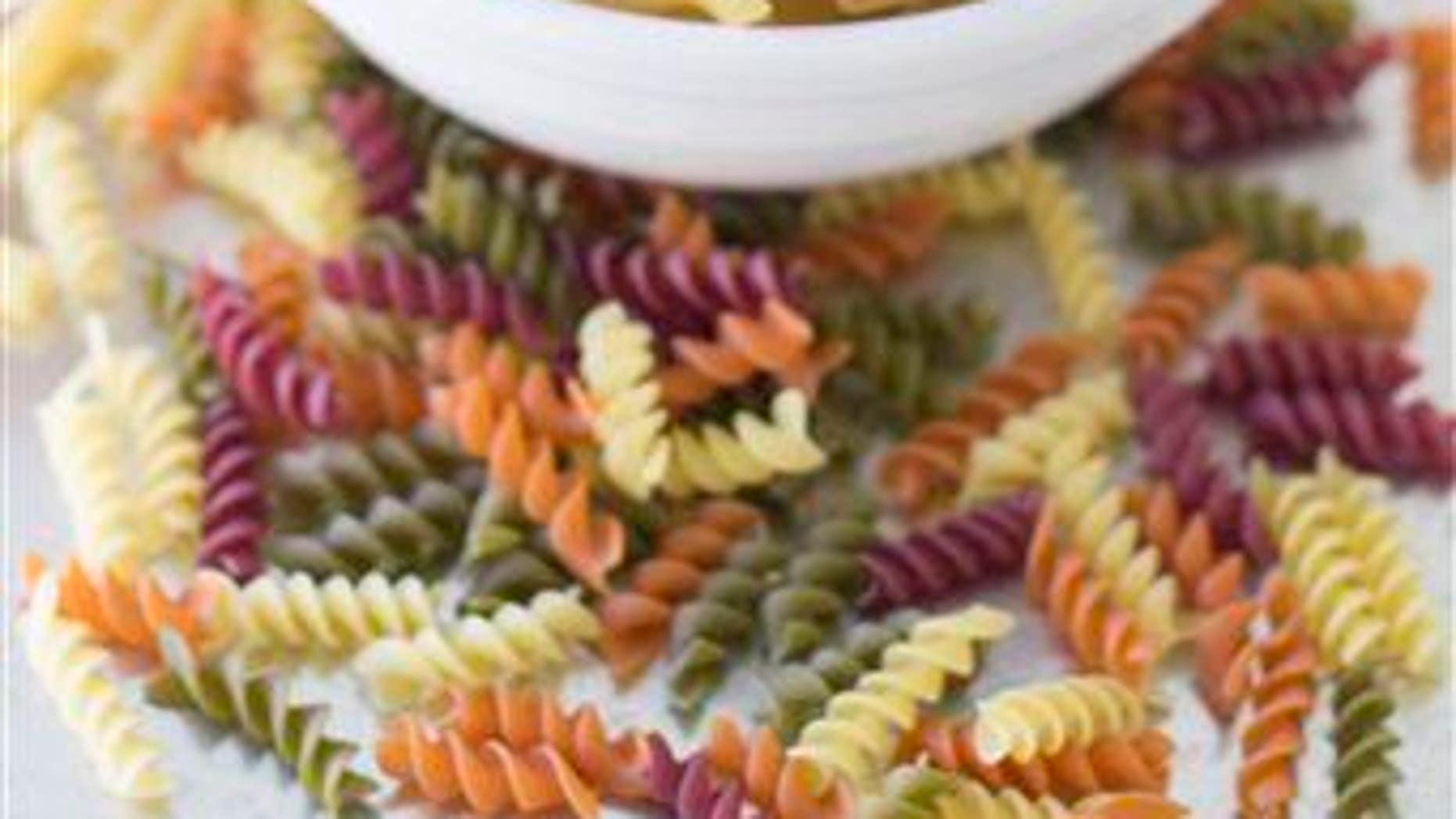 An assortment of pastas.