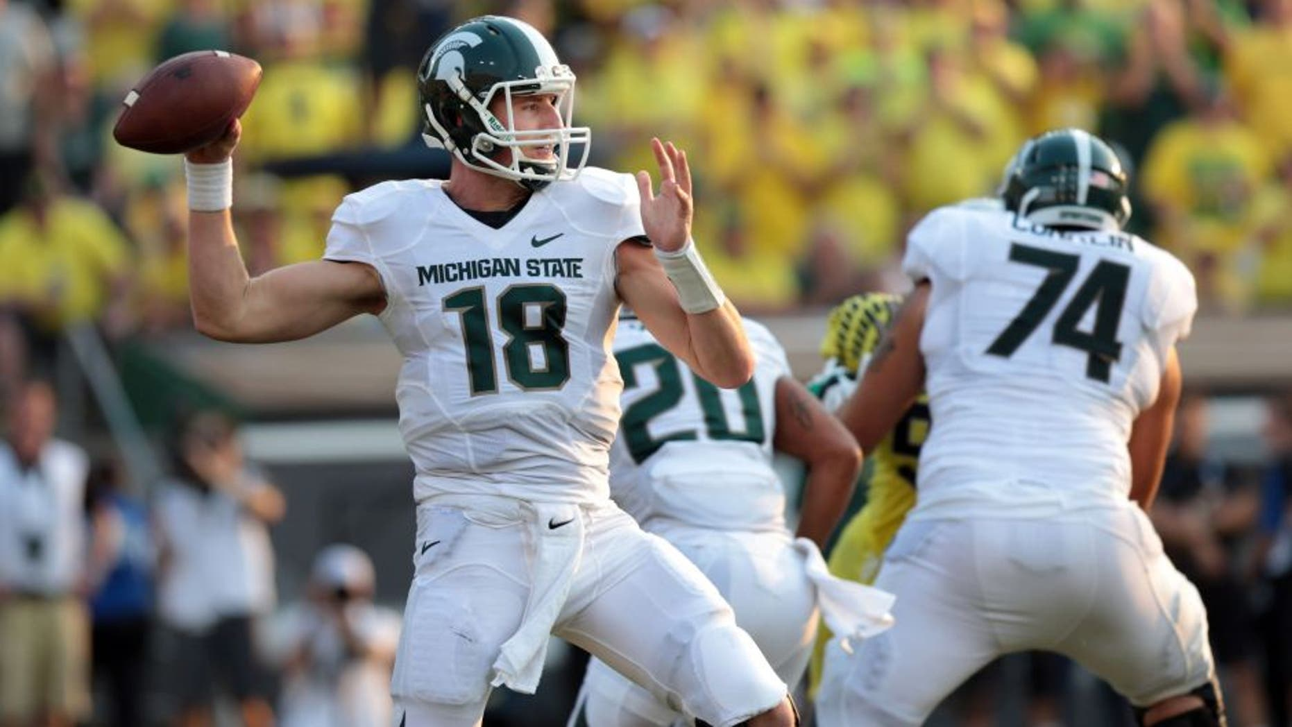 Image: Michigan State QB Connor Cook