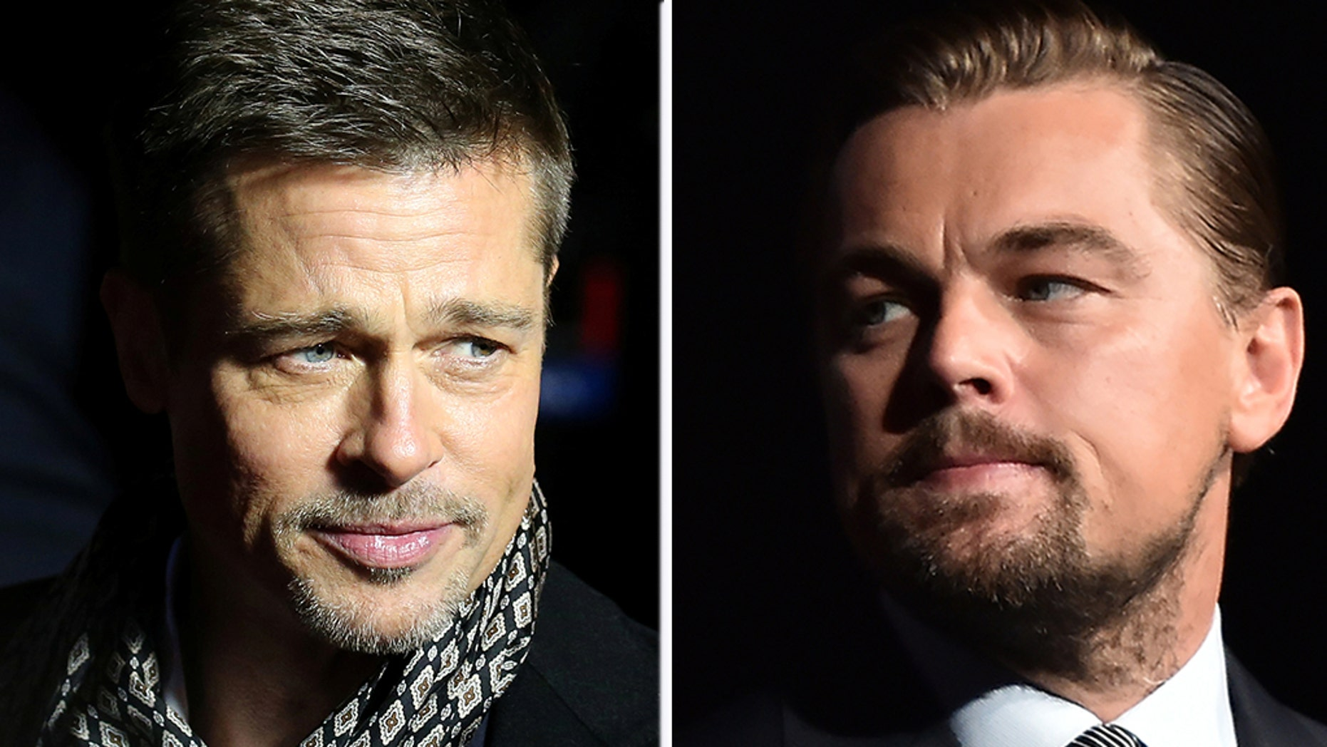 Brad Pitt and Leonardo DiCaprio appeared in a video released on Friday by NowThis News.