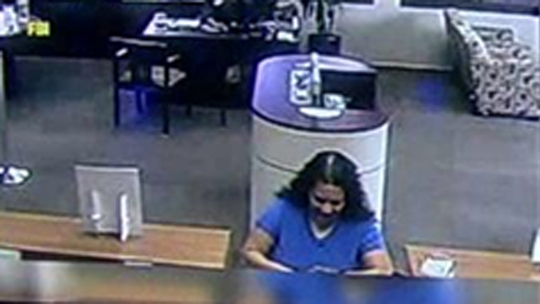 Police are searching for a woman they say was involved in seven separate bank robberies in the last month.