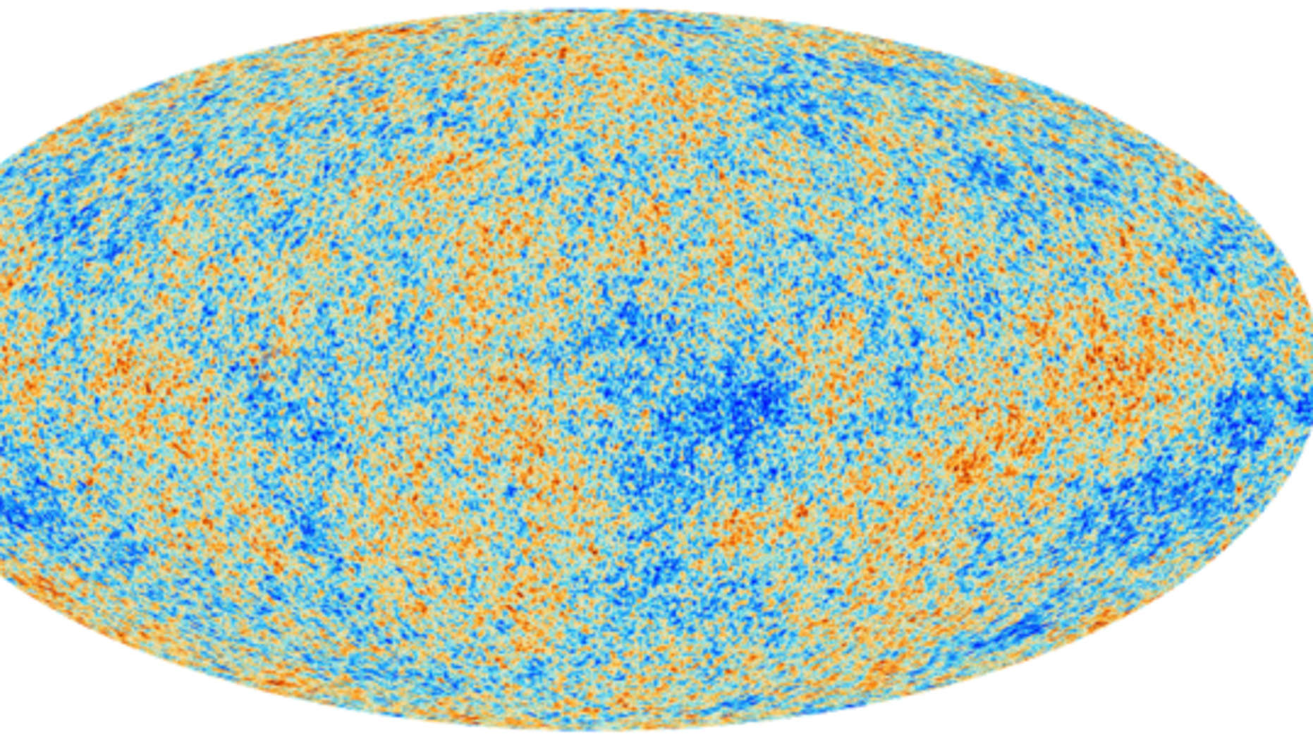 A thermal map of the cosmic microwave background as measured by the Planck observational satellite. A University of Washington physicist used this data to simulate the sound of the Big Bang.