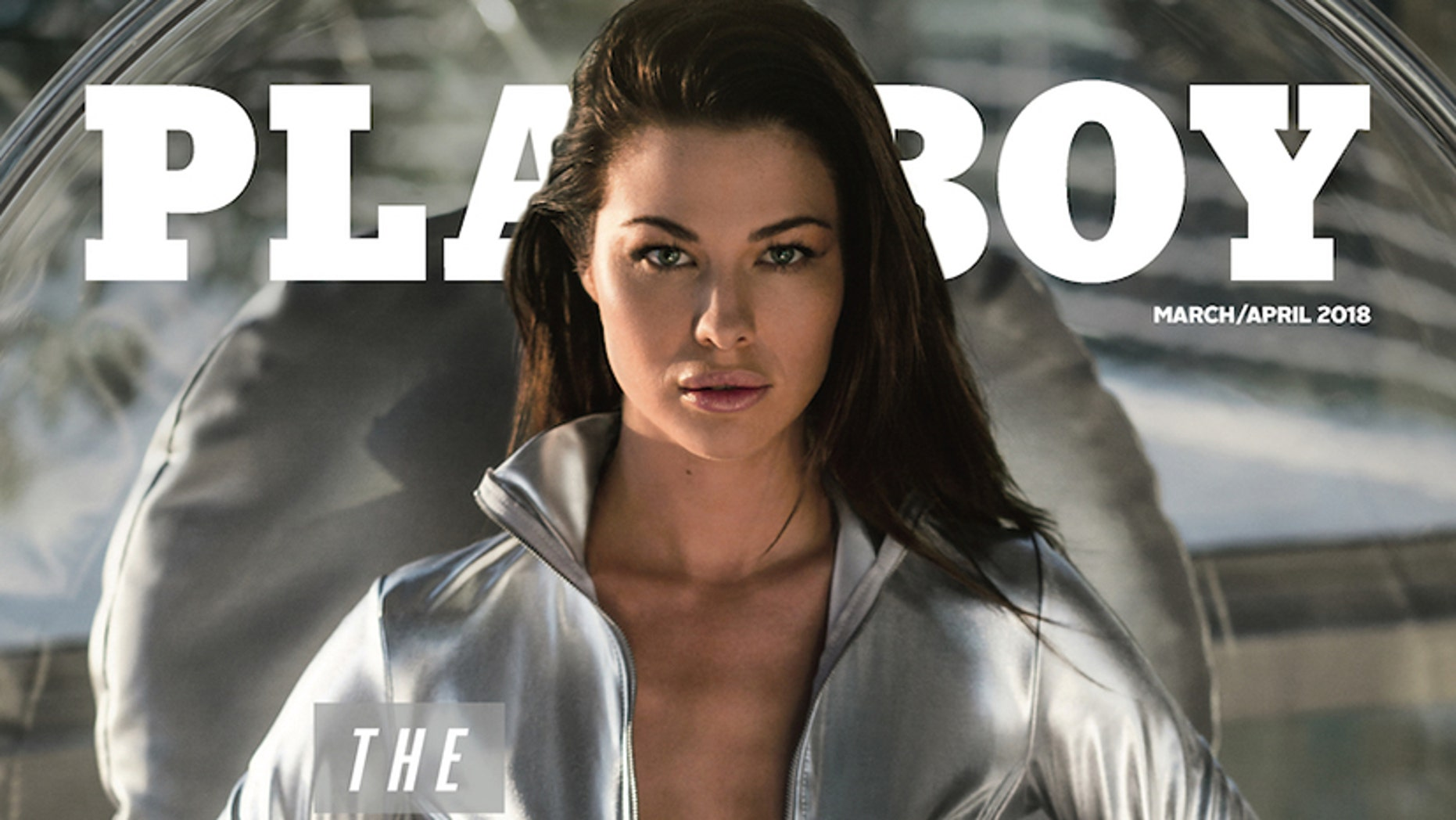 "Playboy unveiled ""The Future Issue"" as the March/April 2018 edition, via Instagram today, with March Playmate Jenny Watwood on the cover."
