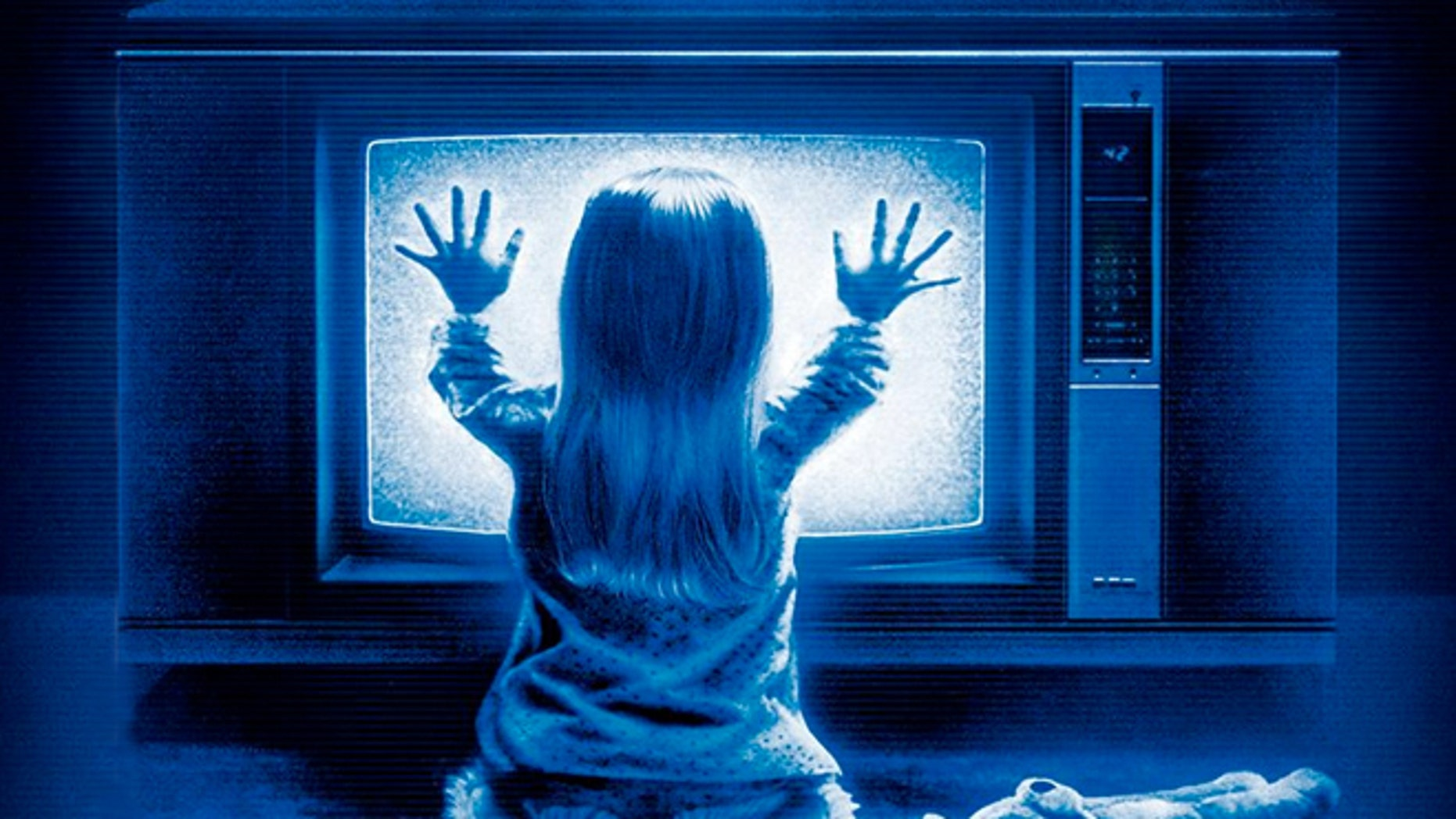 """In the 1982 Steven Spielberg movie """"Poltergeist,"""" demons are watching a family from within their TV. Who's watching through your TV today?"""