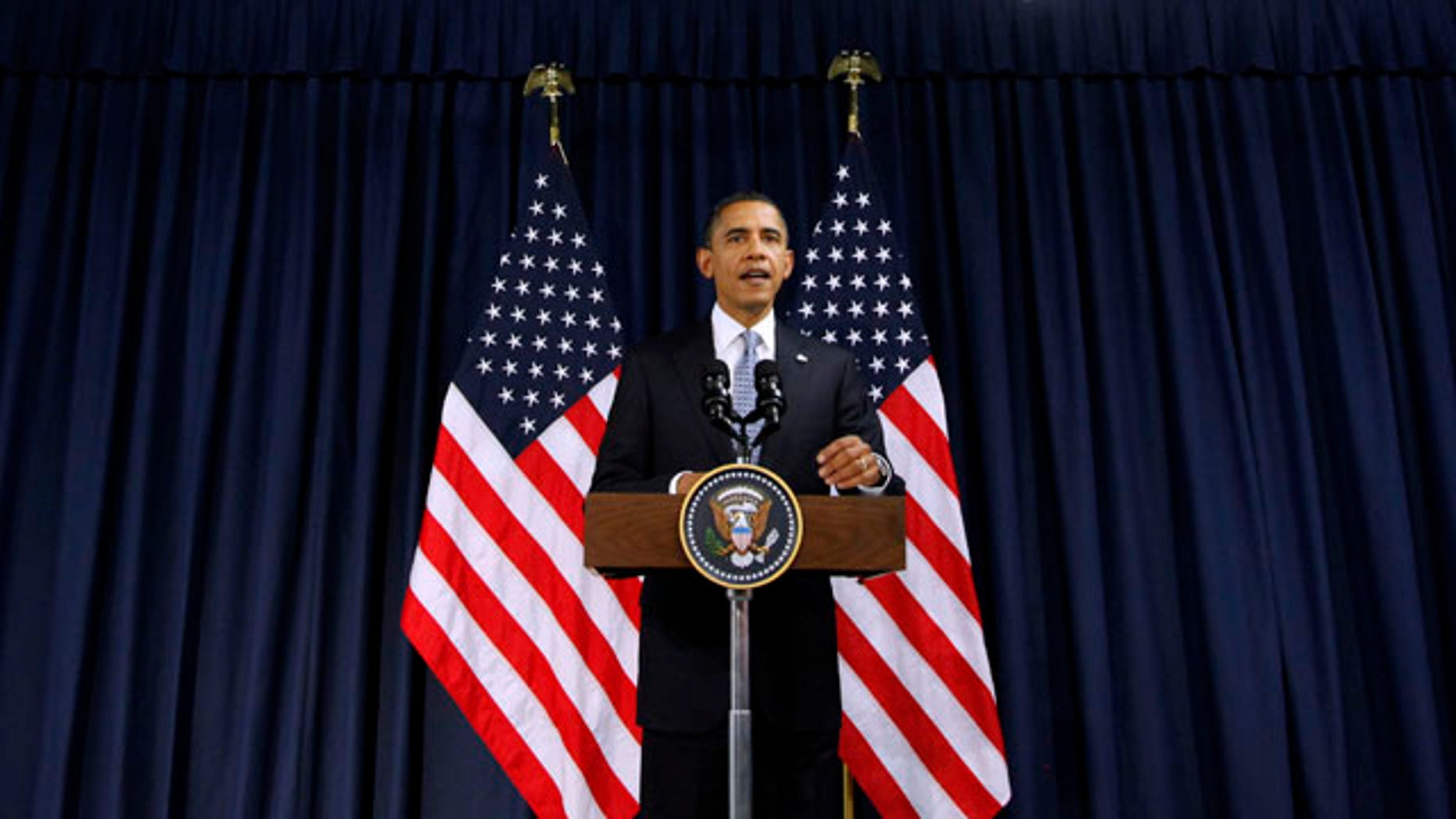 Nov. 19: President Barack Obama delivers a statement to members of the media in Lisbon , Portugal.
