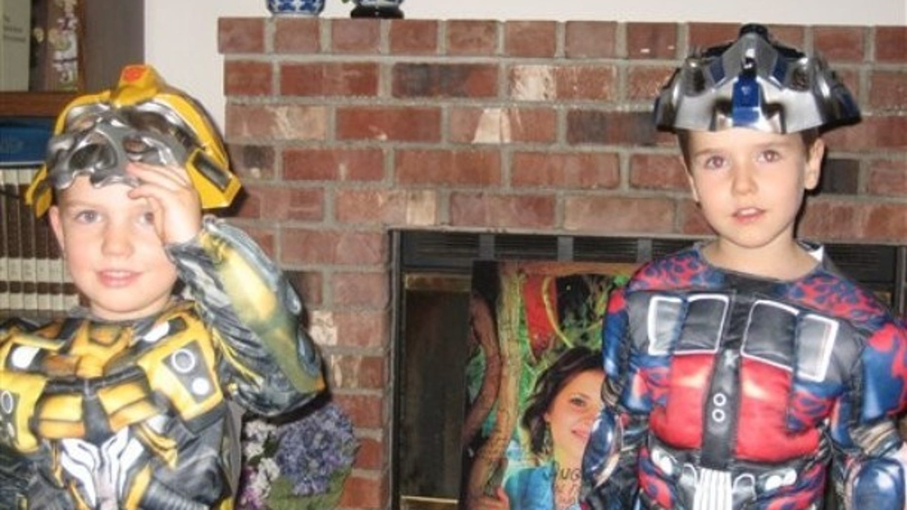 File: Braden, left, and Charlie Powell. The boys were killed along with their father, Josh Powell, on Sunday in what police said was an intentional fire set by Powell.