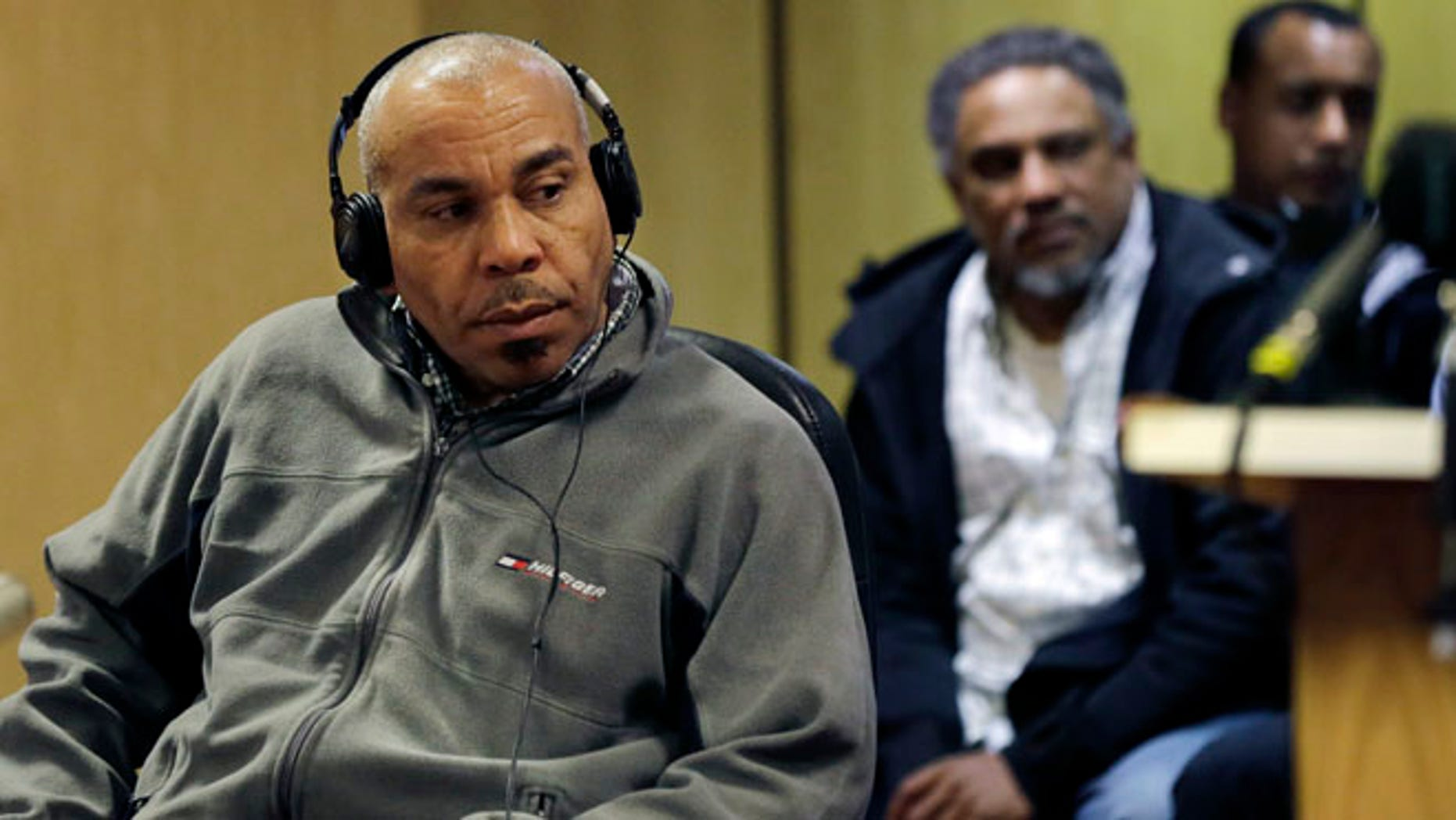 April 1: Pedro Quezada the New Jersey man who just won a $338 million Powerball jackpot, listens to an interpreter during his appearance in state Superior Court in Paterson, N.J.