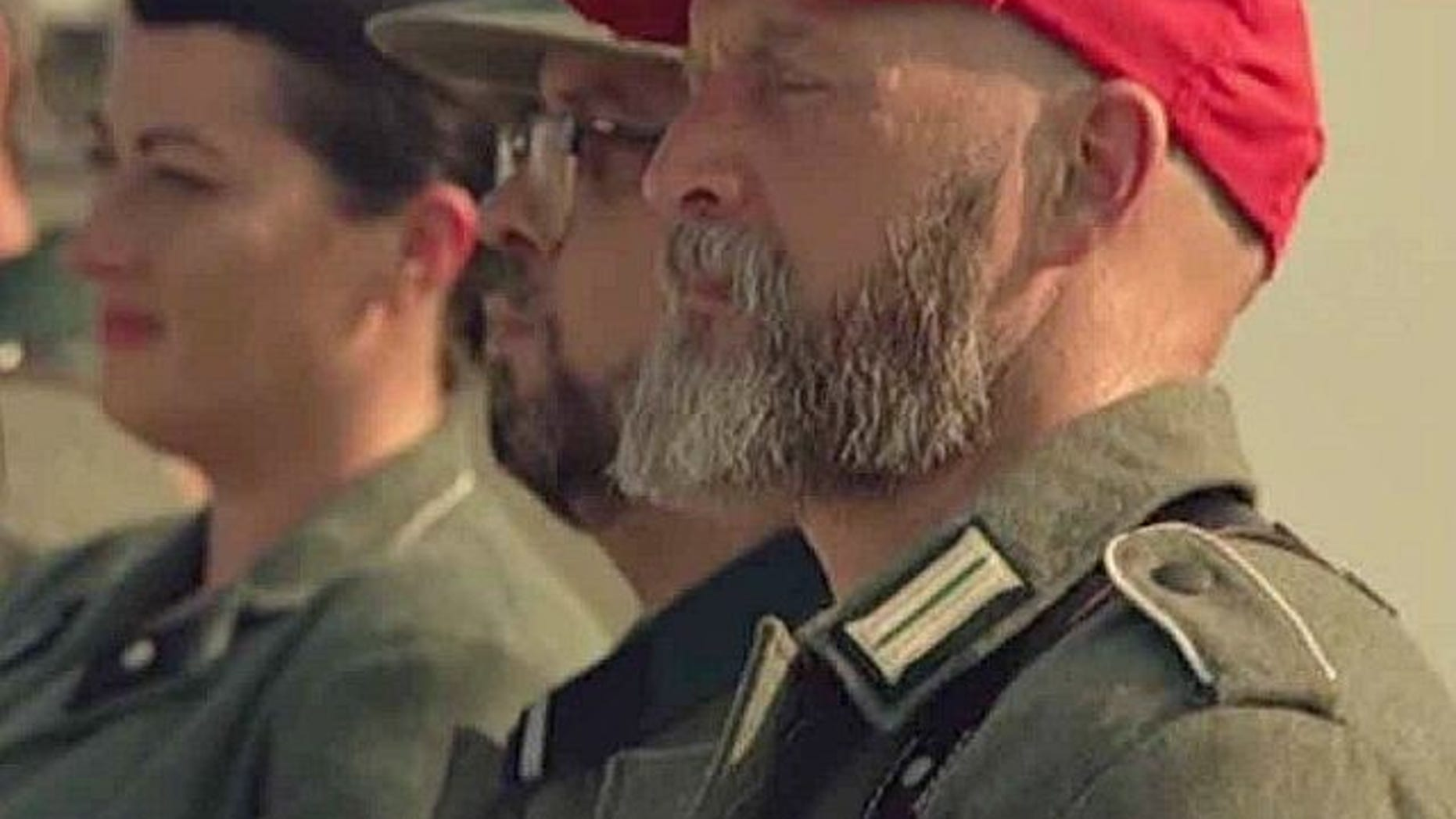 Seth Rogen's AMC series 'Preacher' features Nazi wearing MAGA hat in season finale.