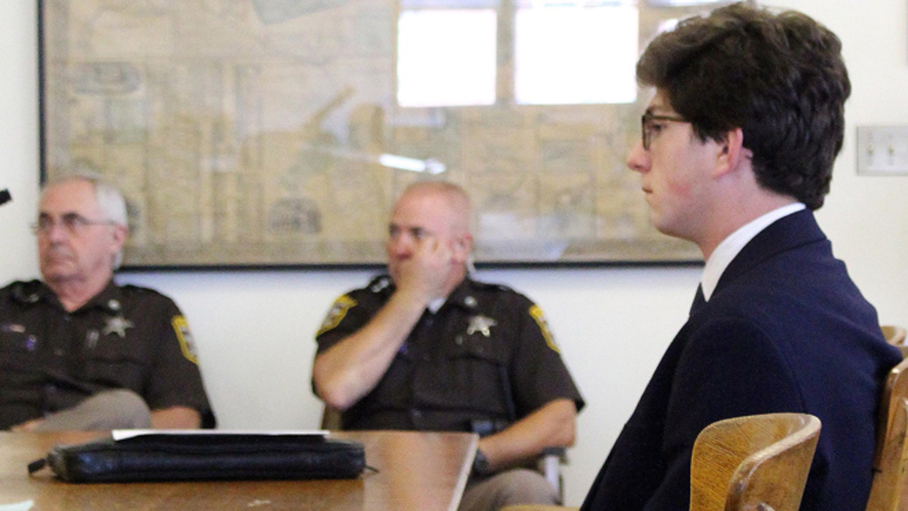 Owen Labrie is charged with taking part in a practice at the school known as Senior Salute where graduating boys try to take the virginity of younger girls before the school year ends.