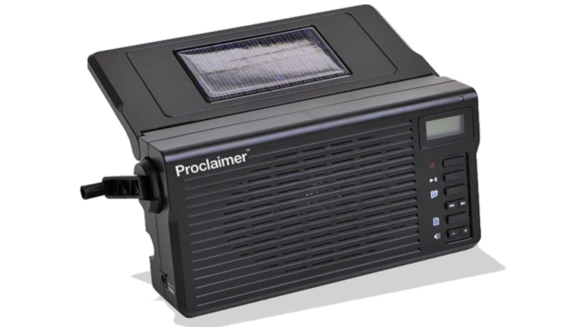 The inspiration for the Proclaimer -- a solar-powered talking Bible -- came during three days of fasting and prayer by the entire staff of Faith Comes By Hearing.
