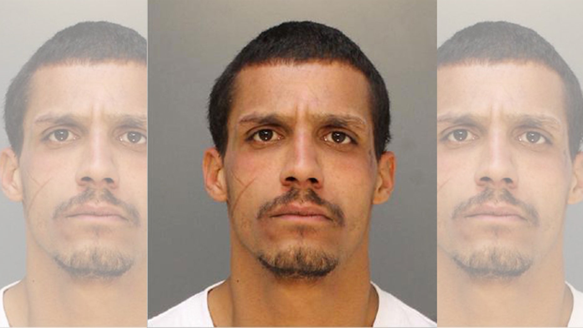 This undated photo provided by the Philadelphia Police Department shows Manuel Baez. Philadelphia police say they have arrested the homeless prostitute in the strangulation of a 75-year-old psychiatrist in a city hotel room. Police said Wednesday, Dec. 23, 2015, that Baez was being charged with murder in the death of Dr. Howard Baker at the Rodeway Inn. (Philadelphia Police Department via AP)
