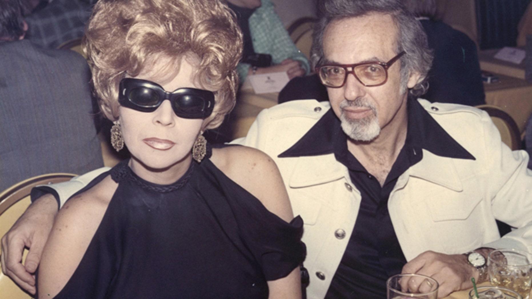 Linda and Burt Pugach in 1974.