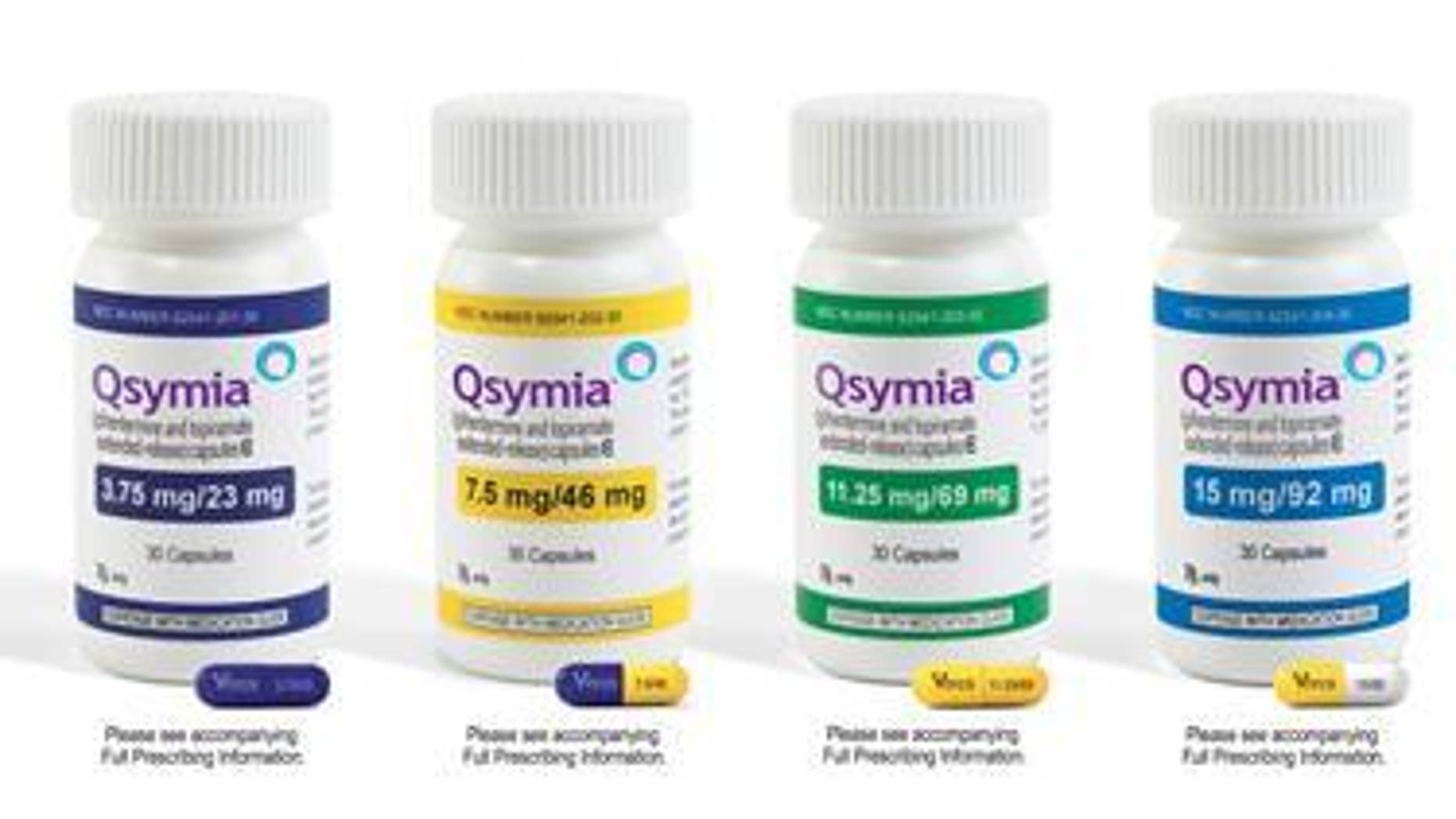 Bottles of pills of the weight-loss drug Qsymia produced by Vivus Inc are shown in this undated handout photo. REUTERS/Vivus/Handout