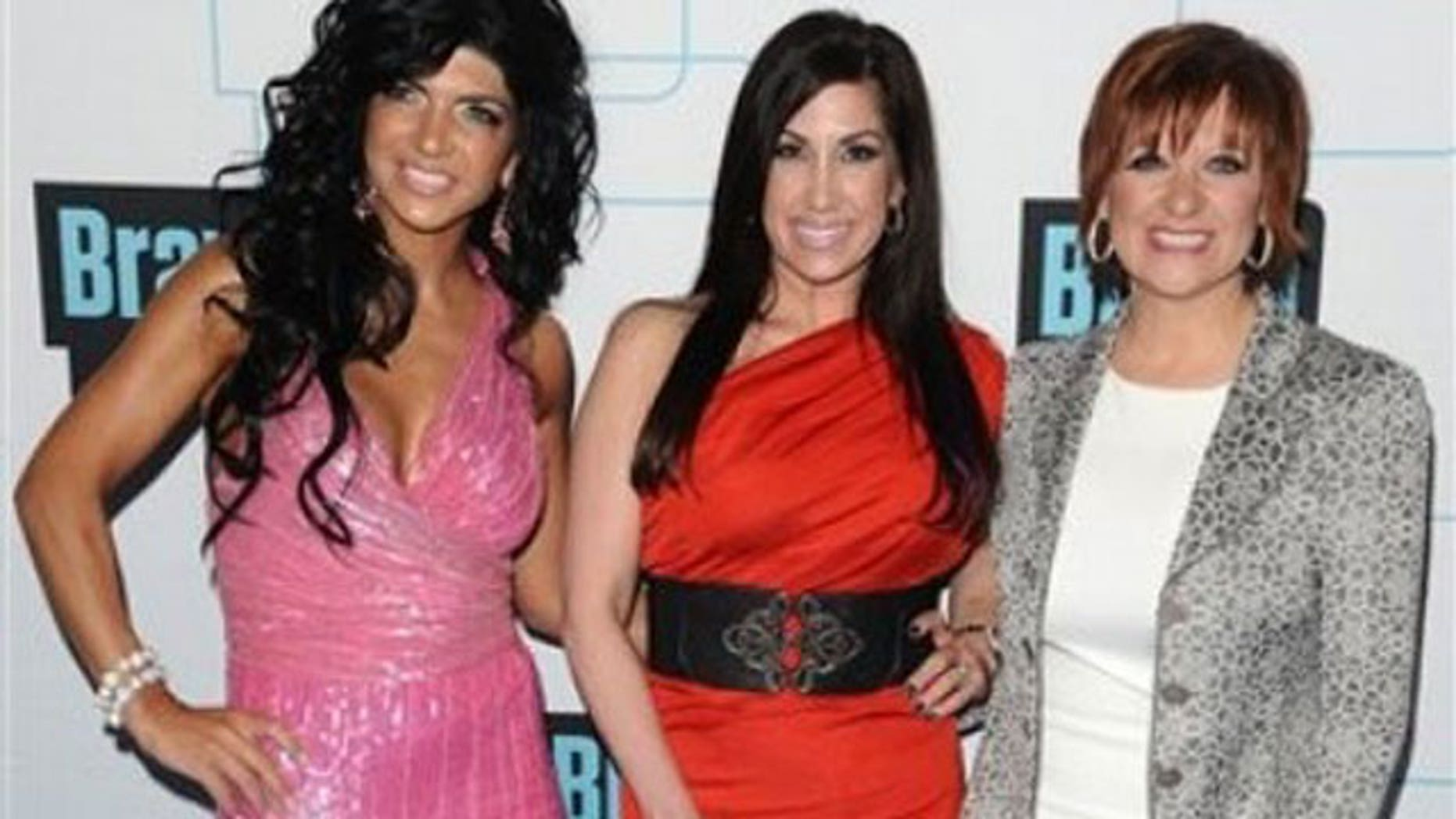'Real Housewives of New Jersey' Teresa Giudice, Jacqueline Laurita and Caroline Manzo. (AP)