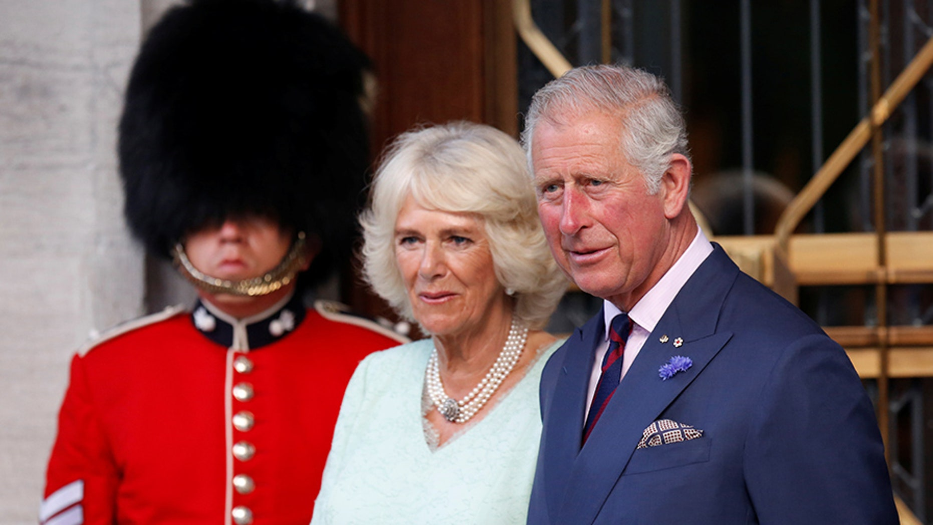 Prince Charles with Camilla, Duchess of Cornwall.