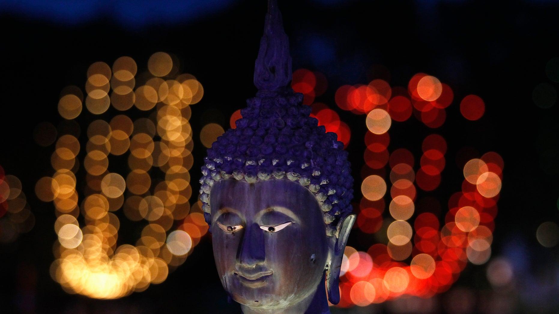 May 26, 2013: A Buddha statue at Gangaramaya Temple in Colombo, Sri Lanka. (Reuters)