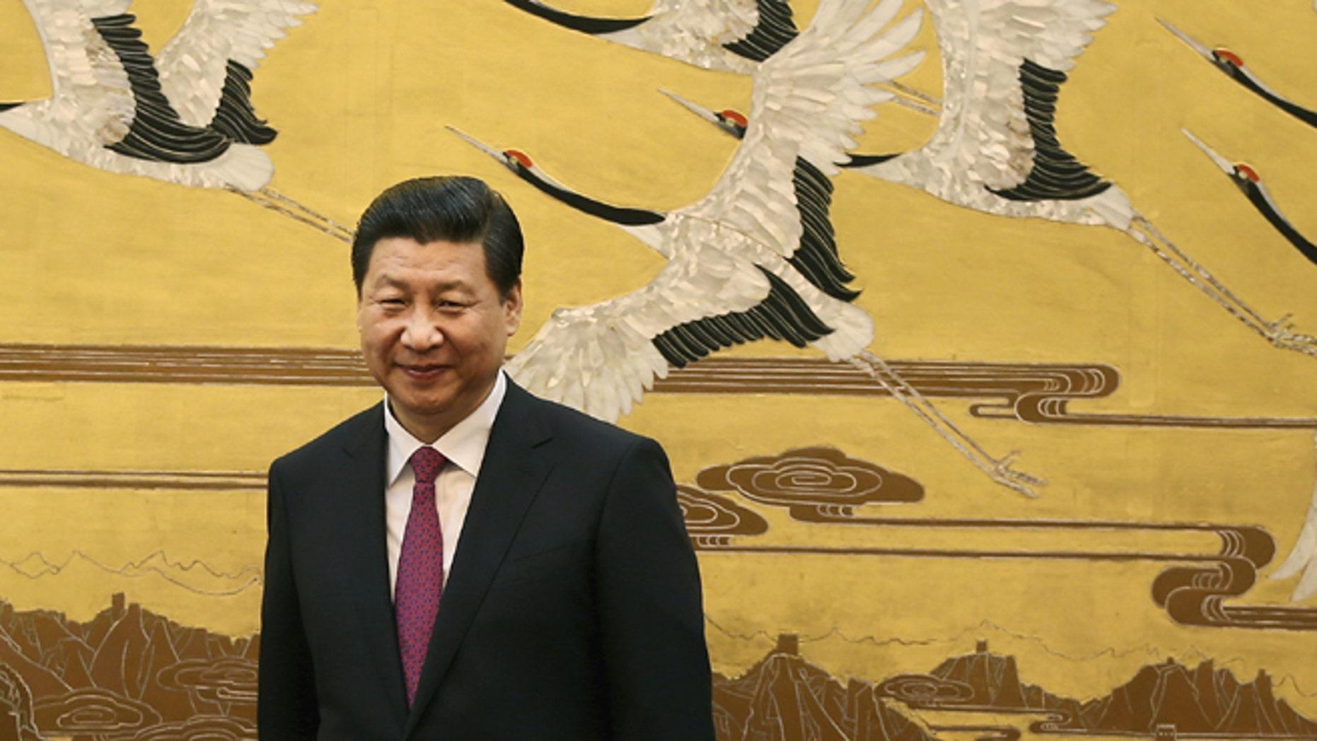 Chinese President Xi Jinping . (REUTERS)