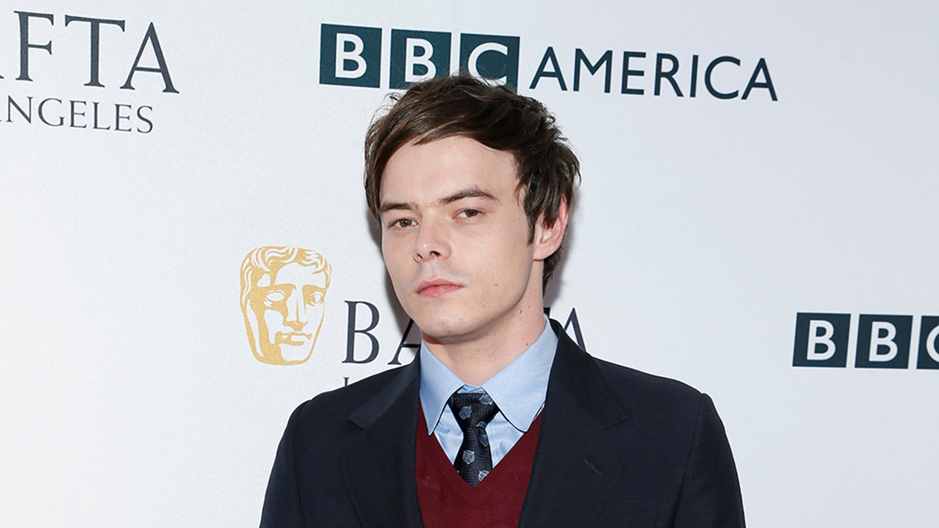 Actor Charlie Heaton poses at BAFTA Los Angeles + BBC America TV Tea Party in Beverly Hills, California, U.S. September 16, 2017 . REUTERS/Danny Moloshok - RC1D1D6F7A30