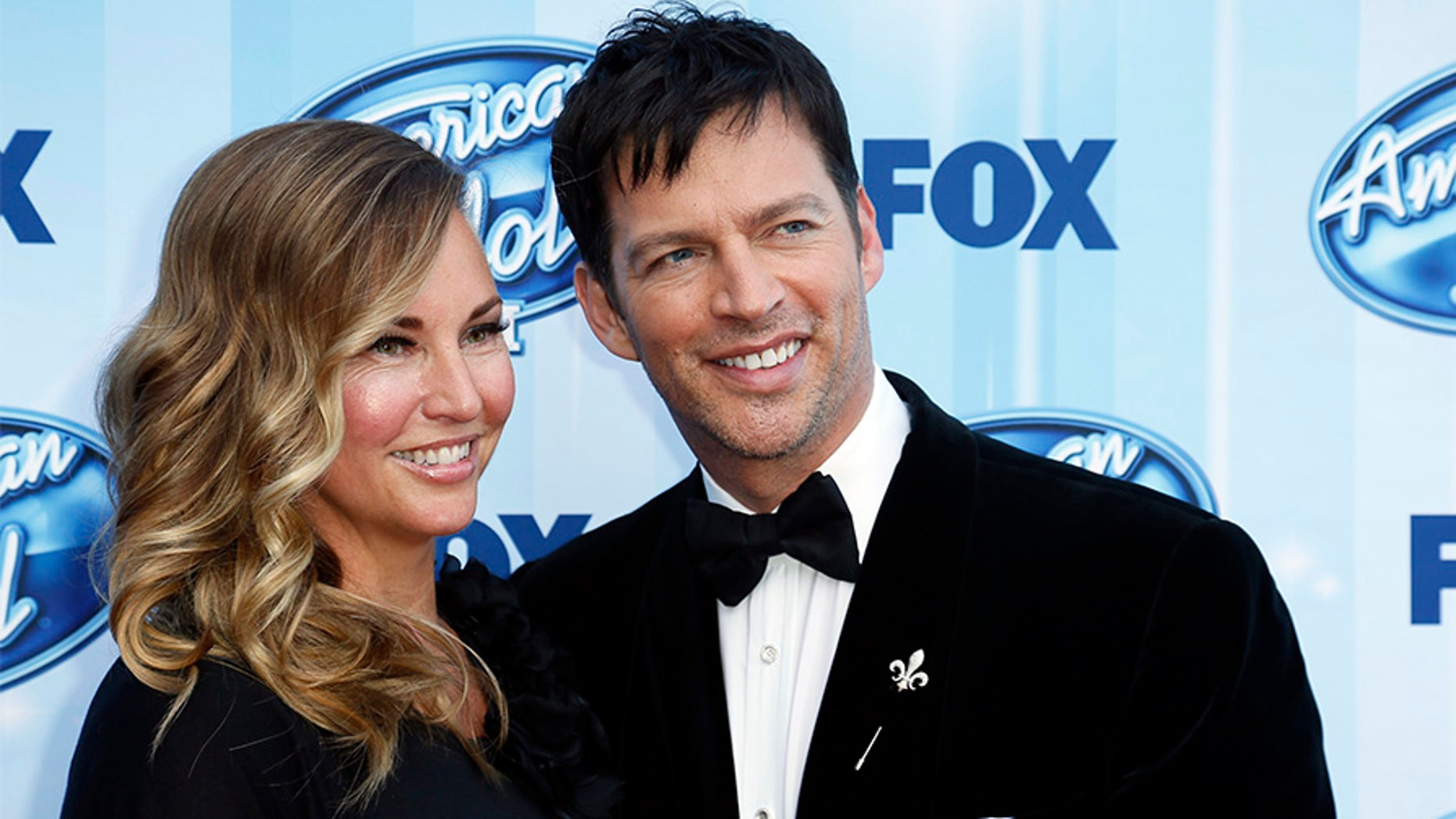 Singer Harry Connick, Jr. and his wife Jill Goodacre in a 2014 file photo.