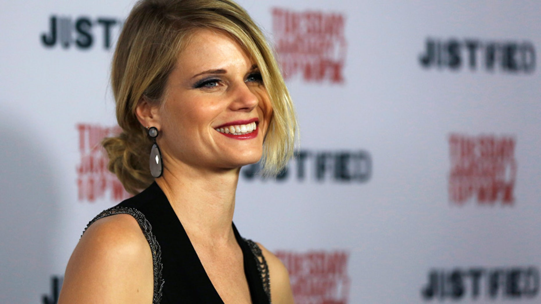 """Joelle Carter of """"Justified"""" fame is enjoying her new role as good cop Laura on """"Chicago Justice."""""""