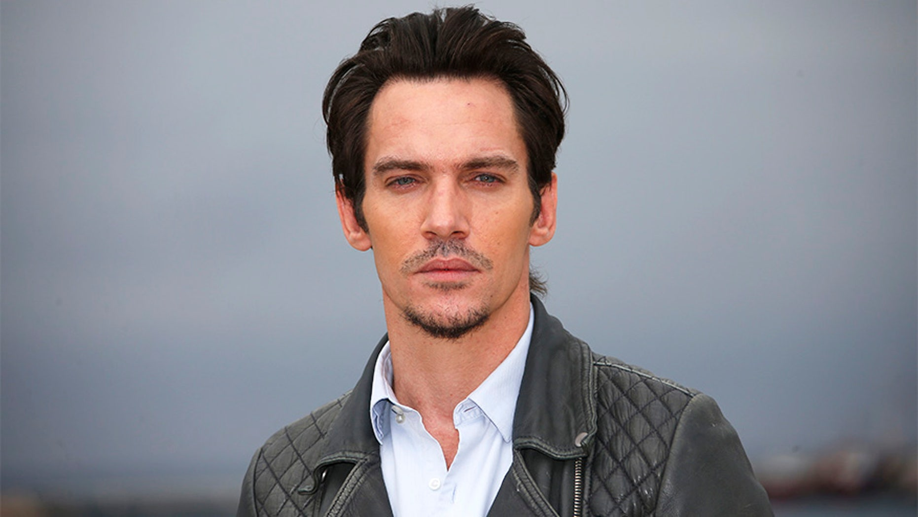 Actor Jonathan Rhys Meyers poses during a photocall at the MIPTV, the International Television Programs Market, in Cannes, France, April 4, 2016. REUTERS/Eric Gaillard - D1AESWMBMJAA