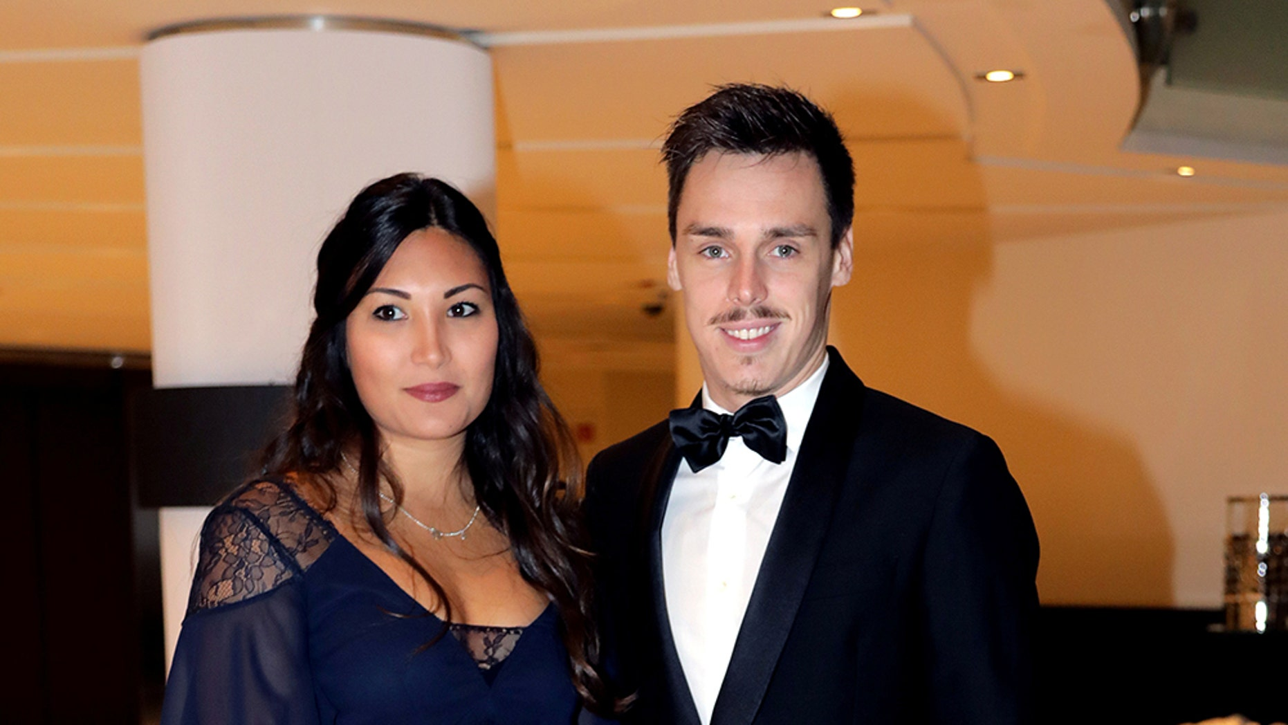Louis Ducruet, the son of Monaco's Princess Stephanie, and his fiancée met over four years ago when they were both attending Western Carolina University in the U.S.
