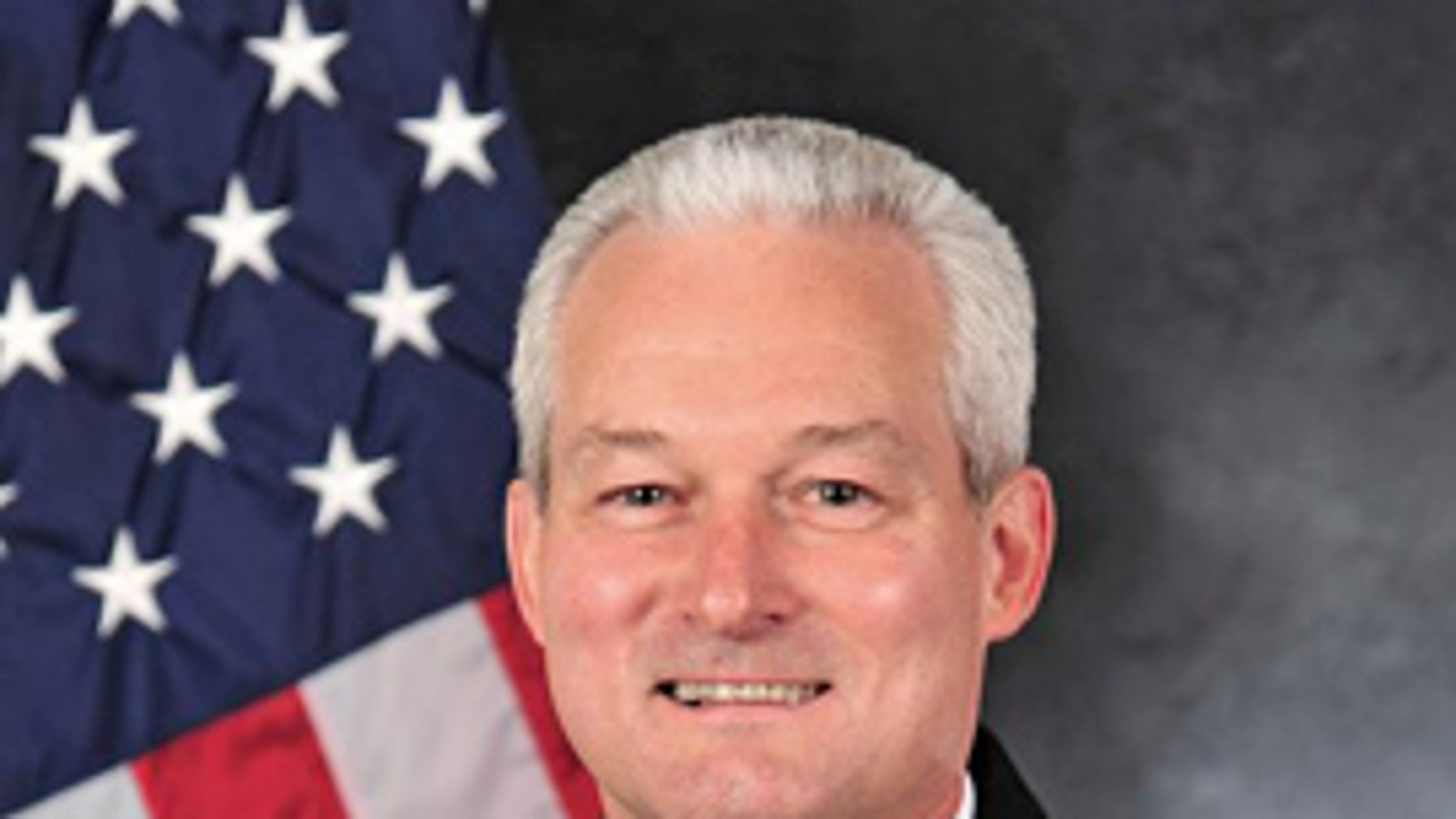 This undated photo shows Rear Admiral David Baucom, who was fired from his job as the director of Strategy, Policy, Capabilities, and Logistics at U.S. Transportation Command in October after an investigation into his misbehavior in April. (U.S. Navy)