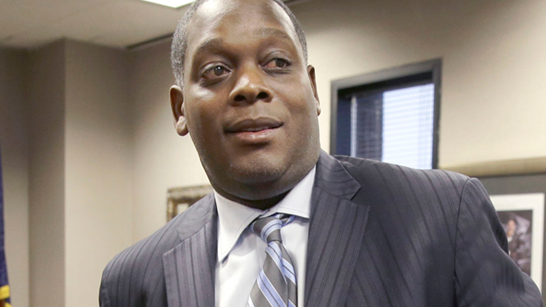FILE 2014:Dallas District Attorney Craig Watkins said his prosecutors had pushed for five years prison time.