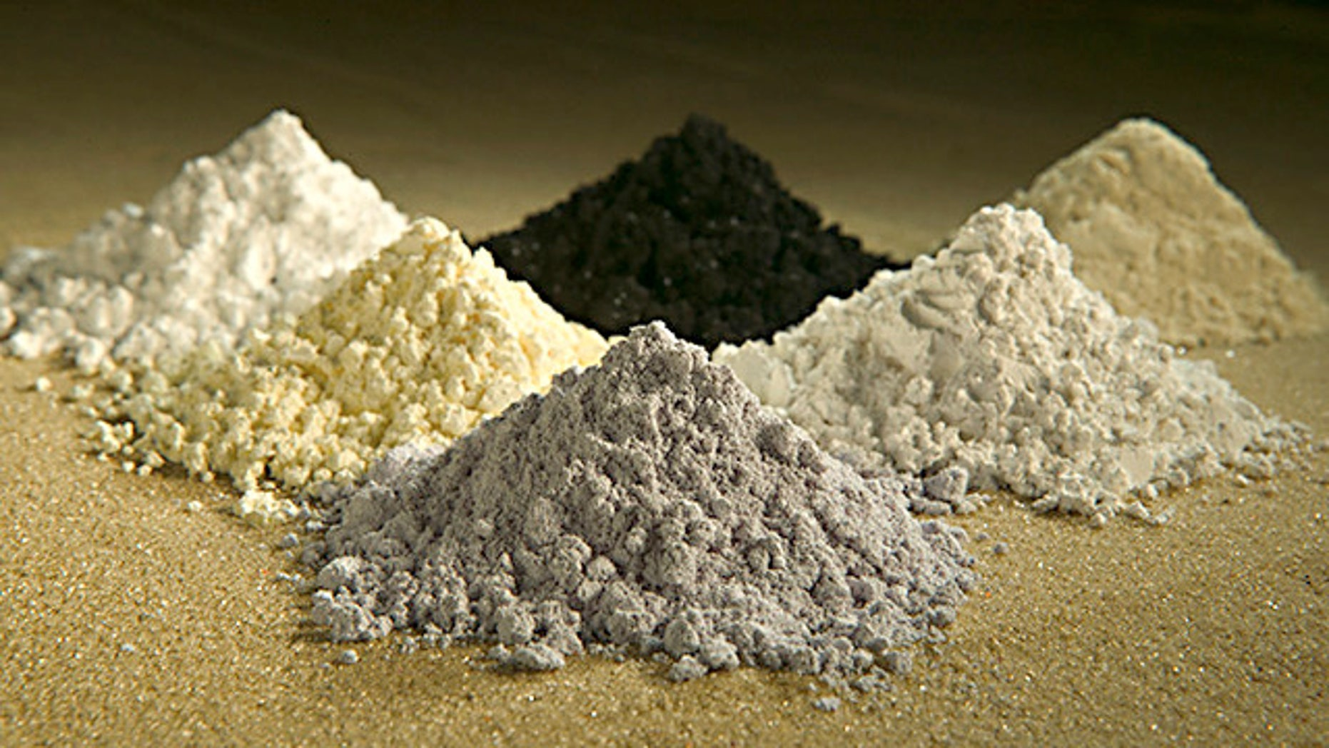 Rare-earth oxides -- a group of rare elements used in everything from cell phones to U.S. missile systems.