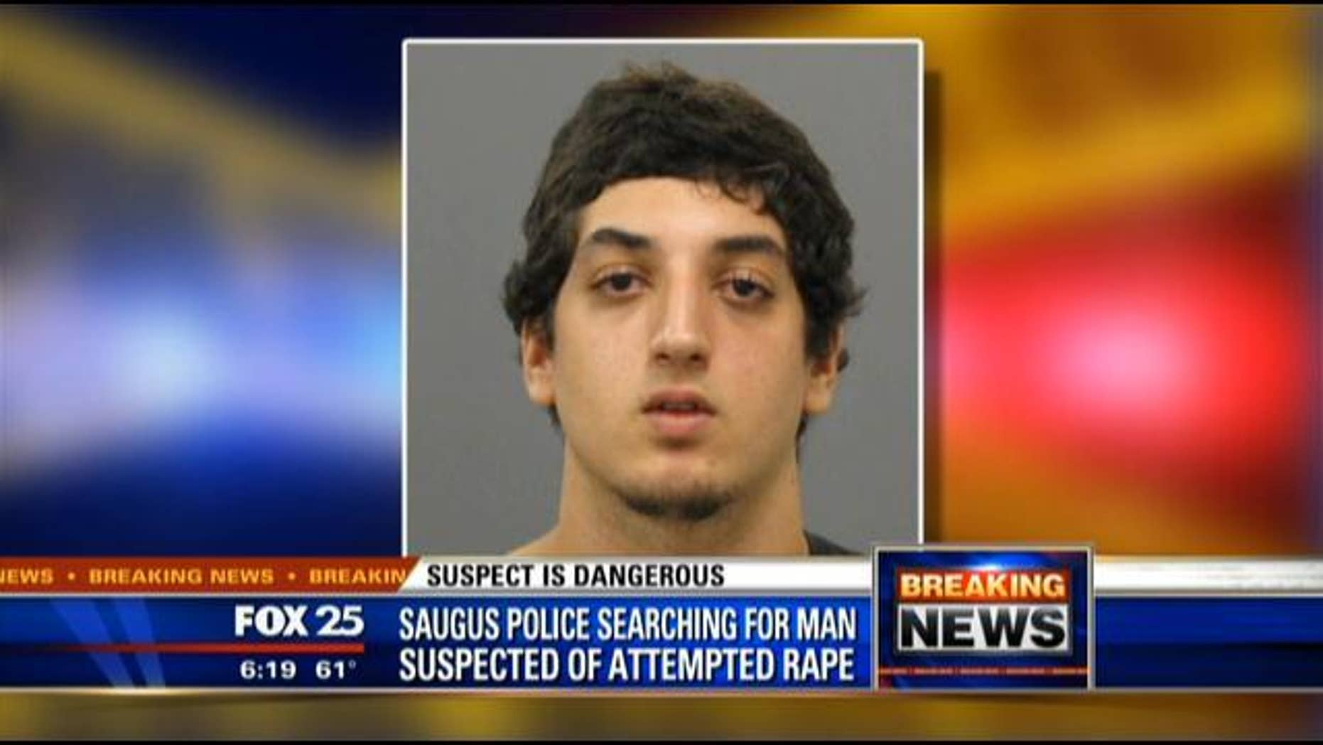 This image, provided by Fox affiliate WFXT, shows 19-year-old Rashad Deihim.