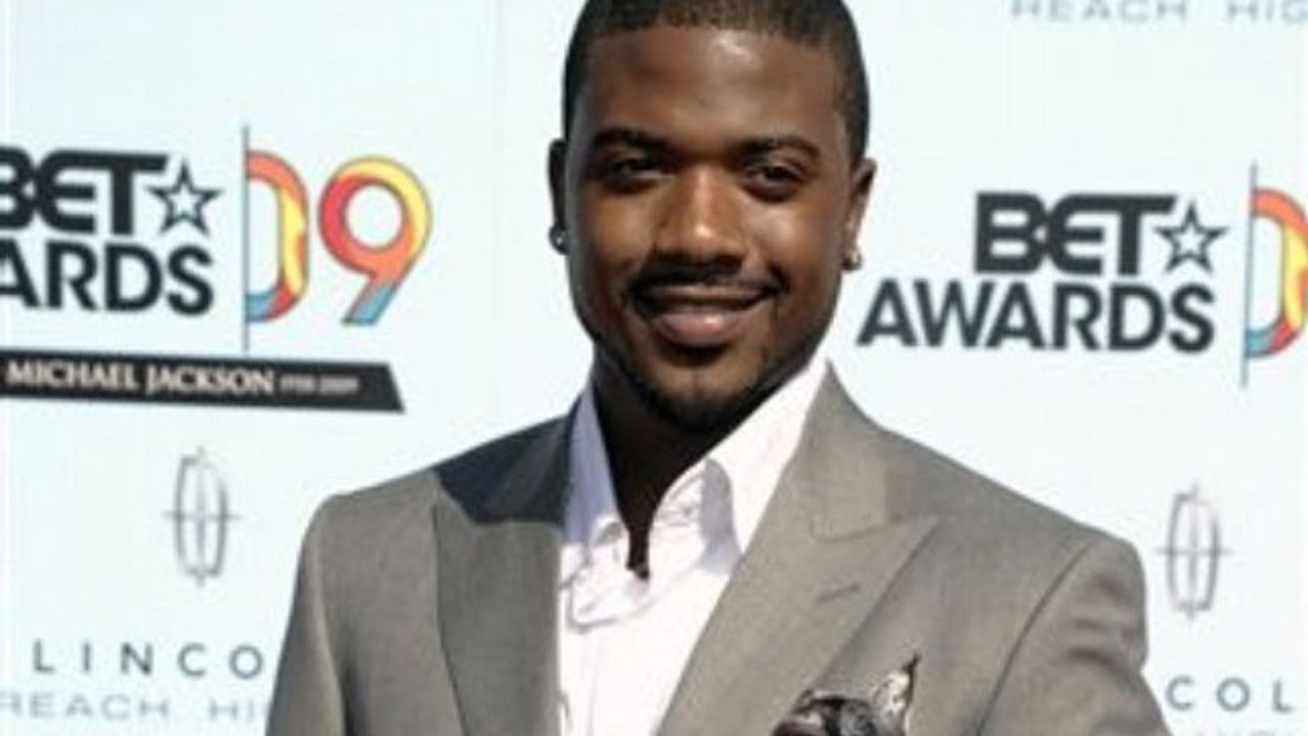 Reality star and singer Ray J on the red carpet.