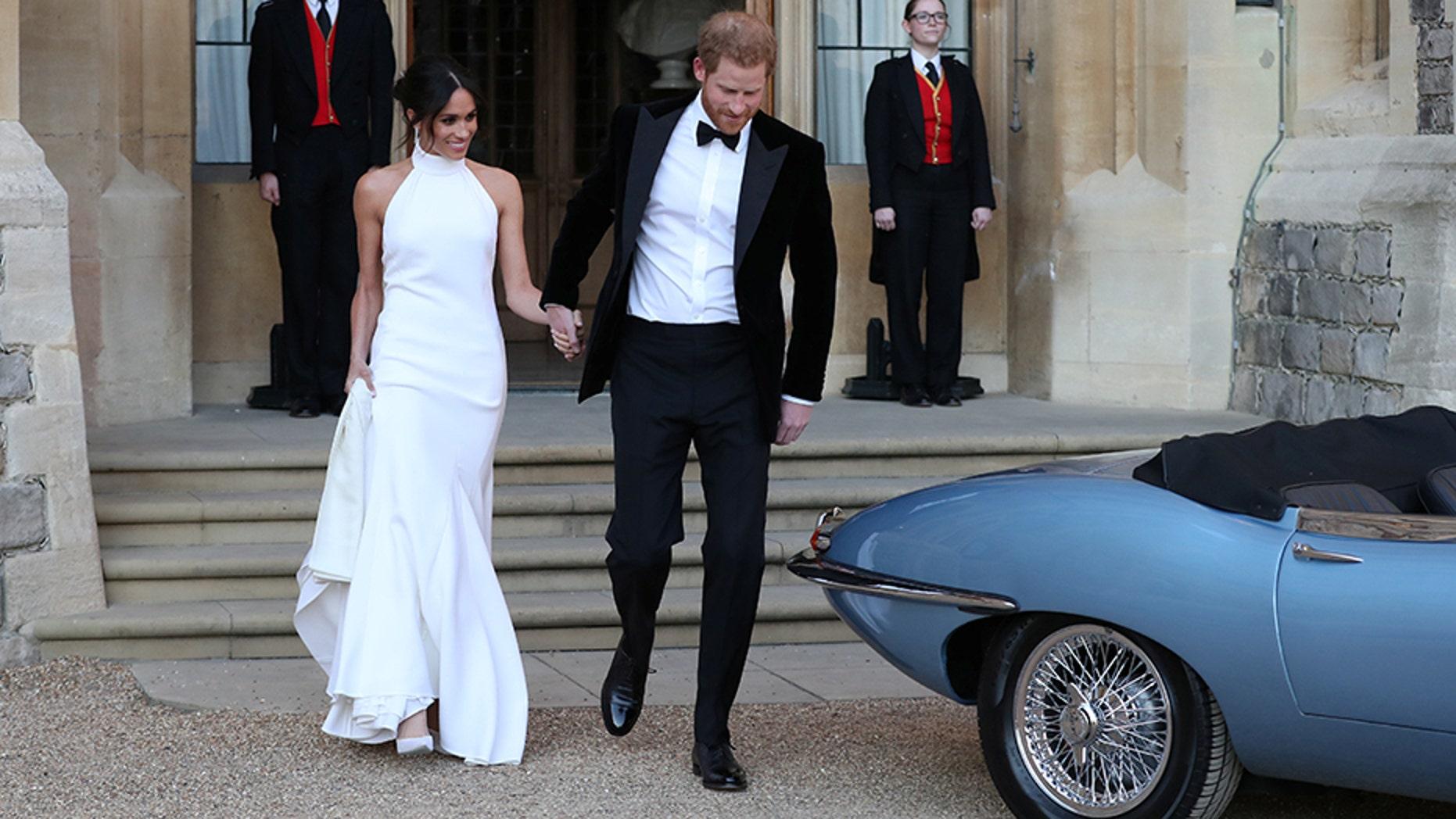 Segundo vestido novia meghan markle
