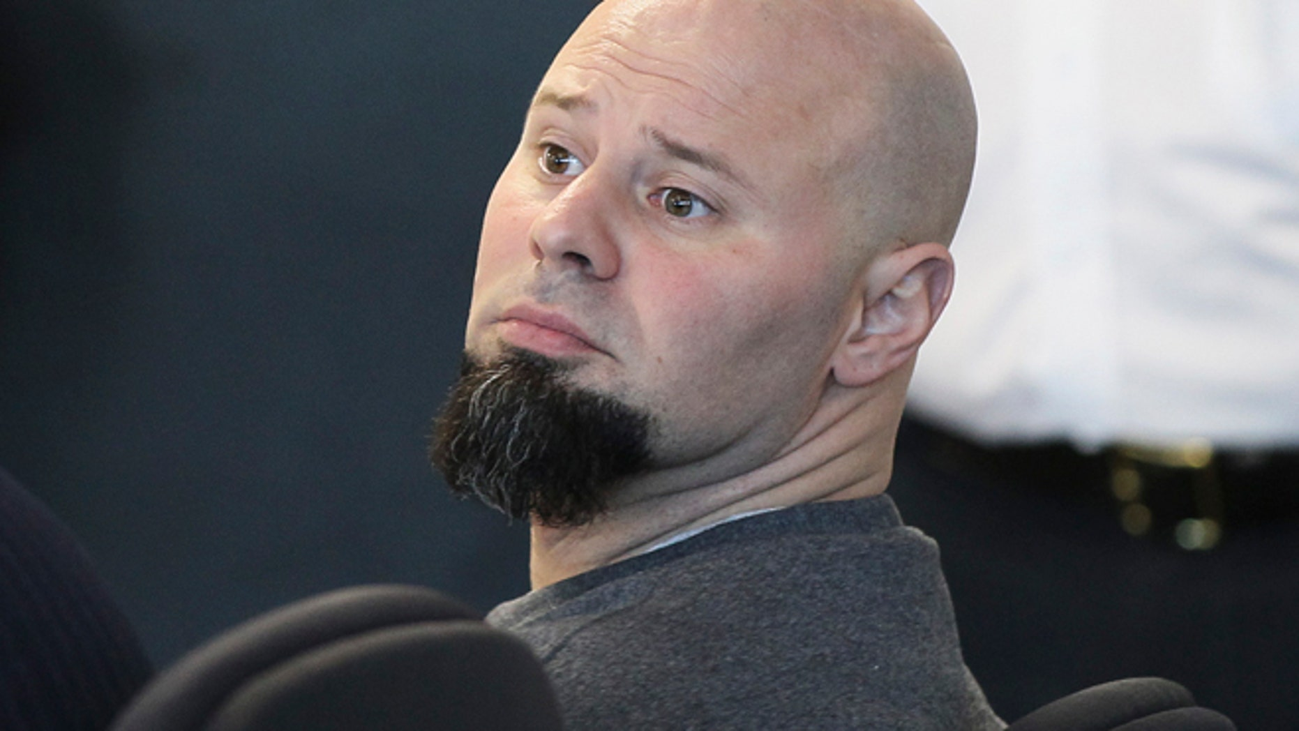 May 27: Jared Remy, son of Boston Red Sox baseball broadcaster Jerry Remy, sits in  Middlesex Superior Court during a hearing in Woburn, Mass.