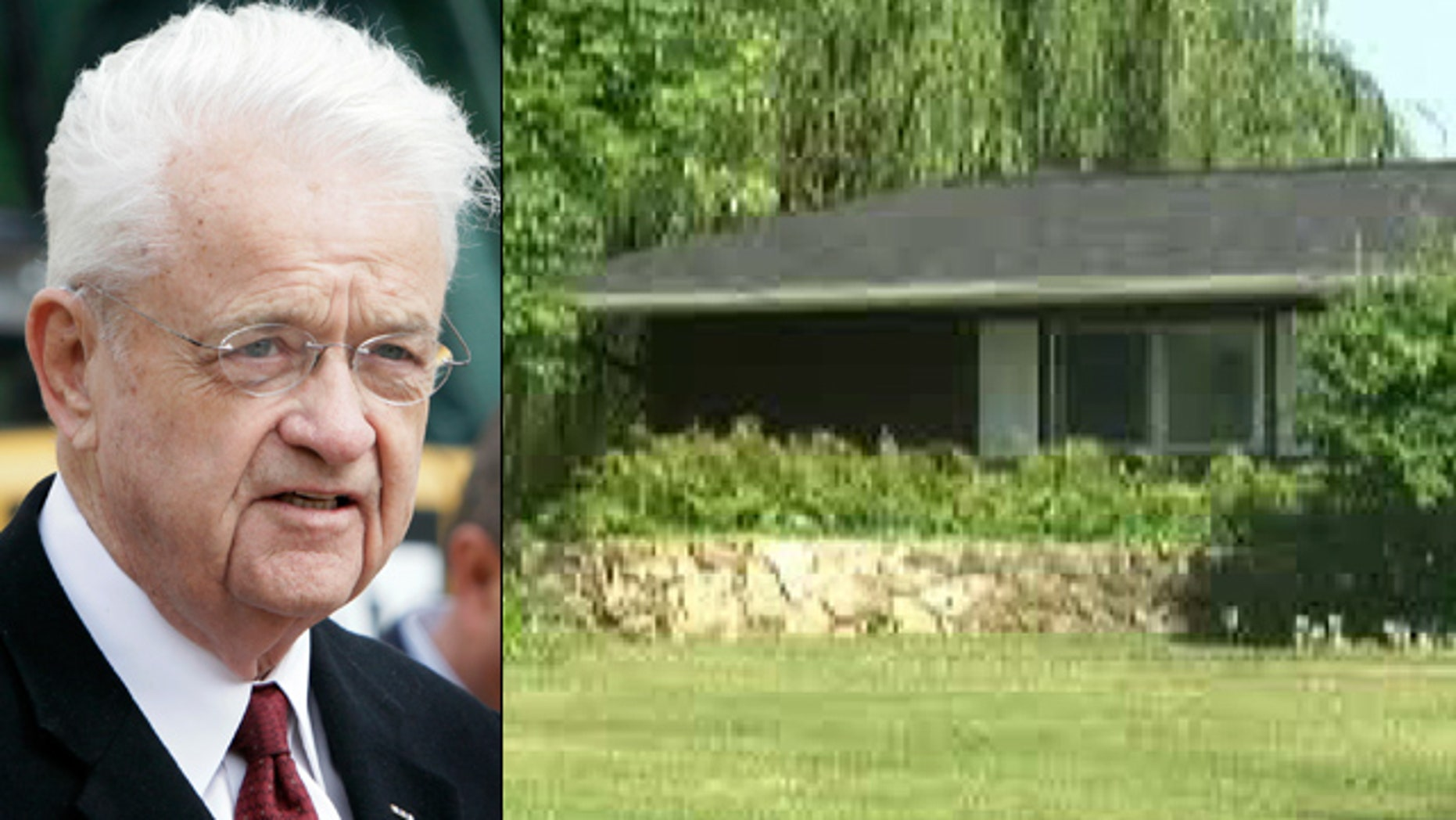 Rep. Leonard Boswell says the man wearing a ski mask burst into the home near Lamoni July 16, 2011, grabbed his daughter and demanded money.