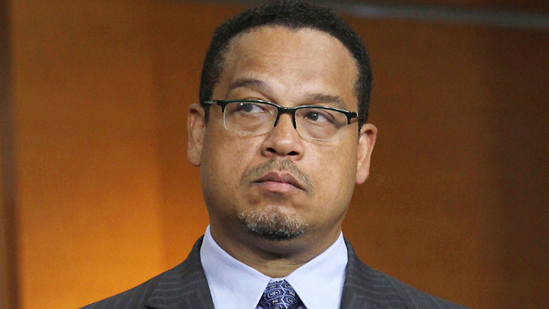 Democratic Rep. Keith Ellison scored a victory Tuesday night in the Minnesota primary race for the state's attorney general days after domestic abuse accusations against him surfaced.