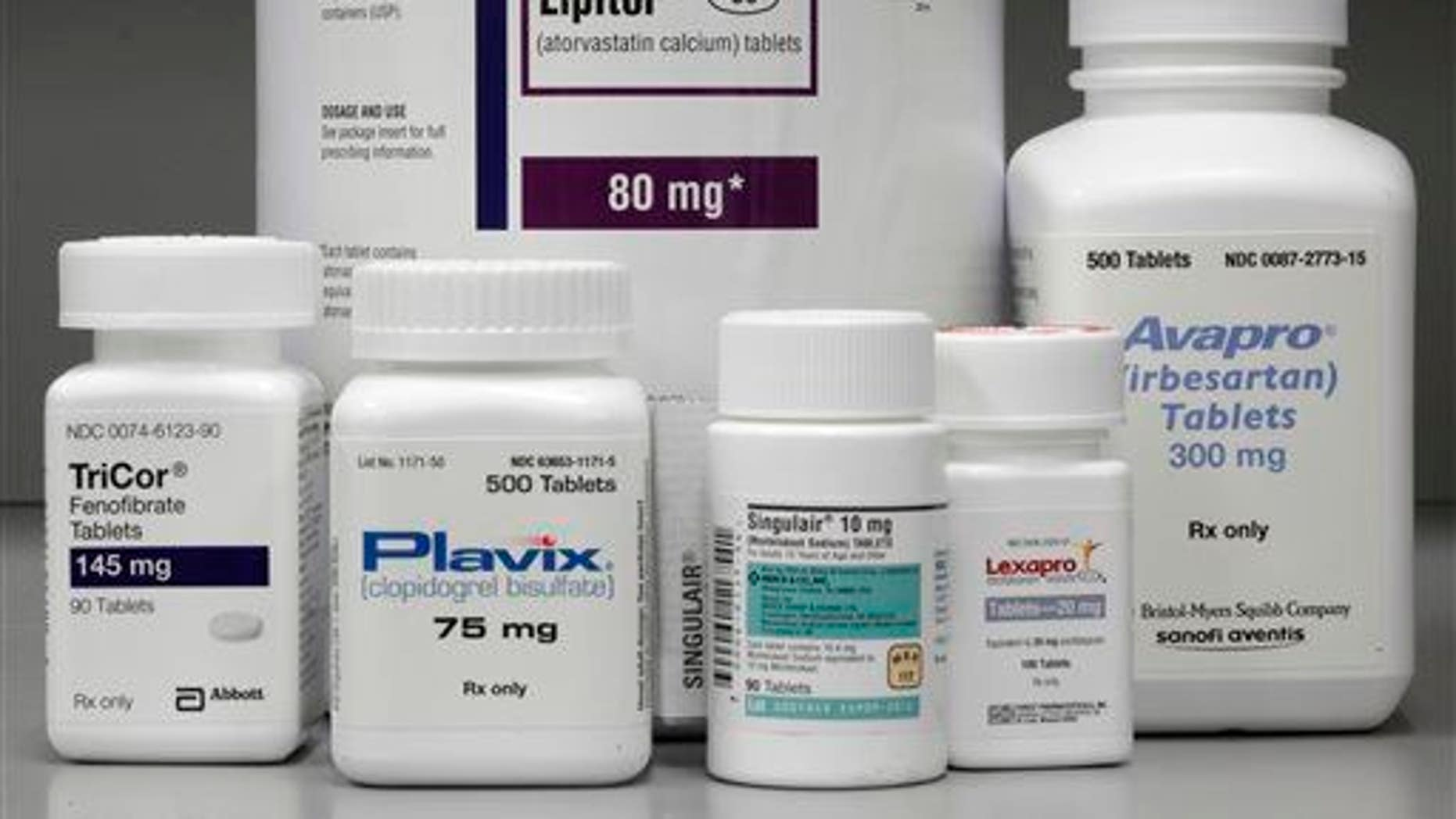 About 60% of the people in the Express Scripts report took 10 or more different medications.