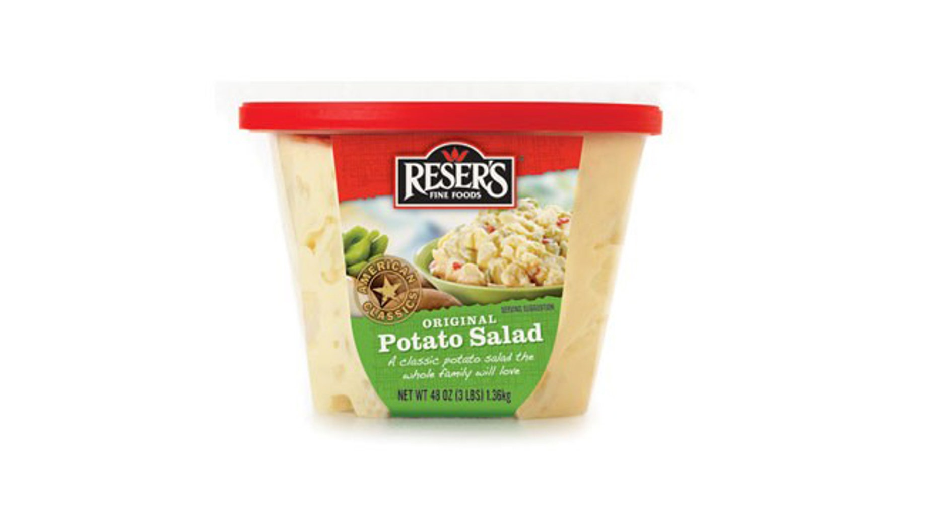 Reser's Fine Foods, which manufactures the potato salad pictured here, issued a recall this week due to concerns over possible listeria contamination.