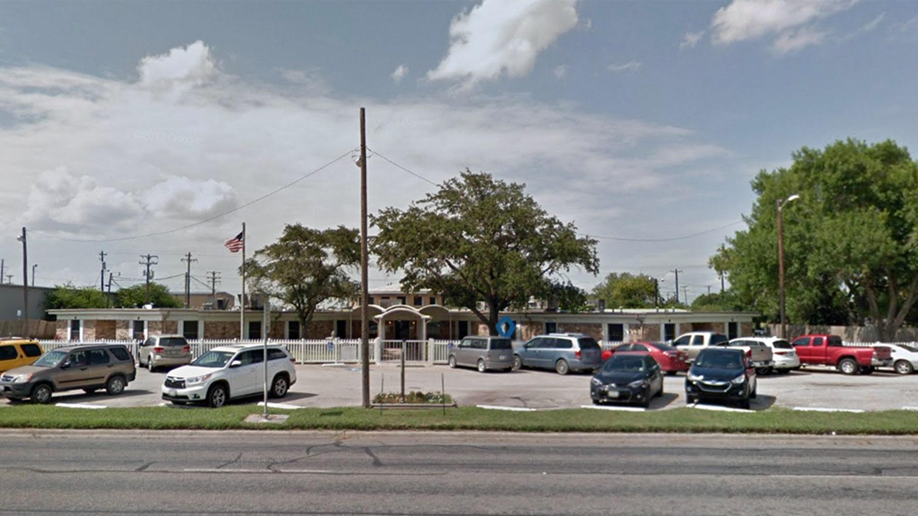 The Retama Manor Nursing Center in Robstown, Texas.