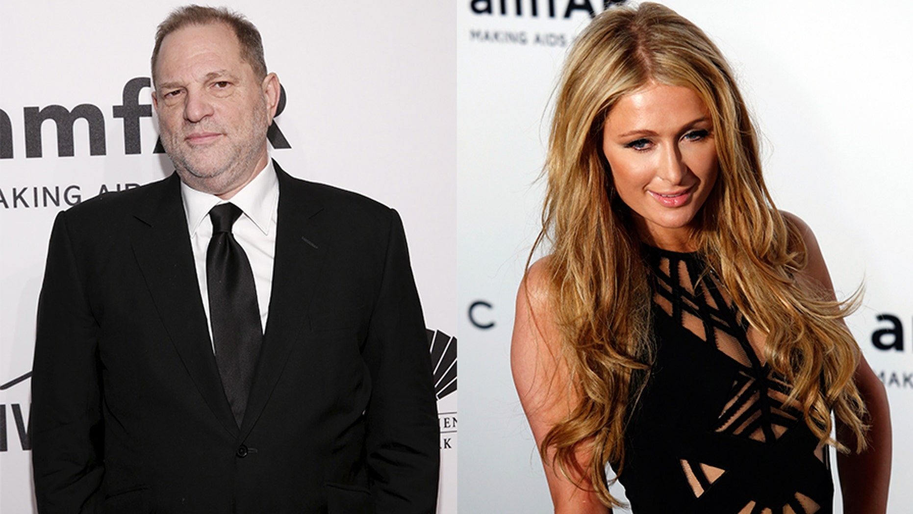 Harvey Weinstein reportedly tried to make a move on Paris Hilton in the women's bathroom at the amfAR Gala near Cannes, France, in 2001, when she was just 20 years old.
